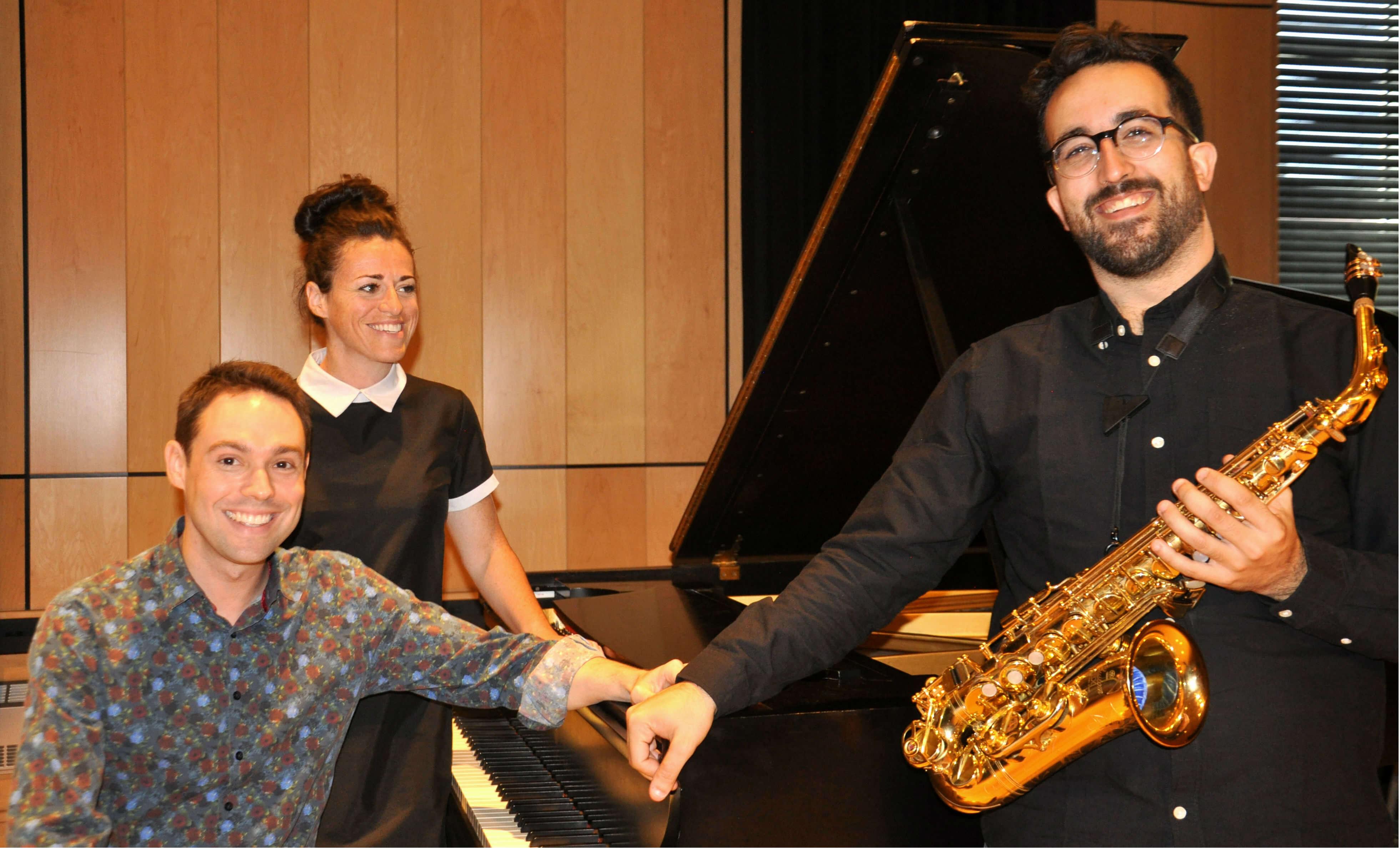 Maxim Bernard, Annie Vanasse et Louis-Philippe Bonin
