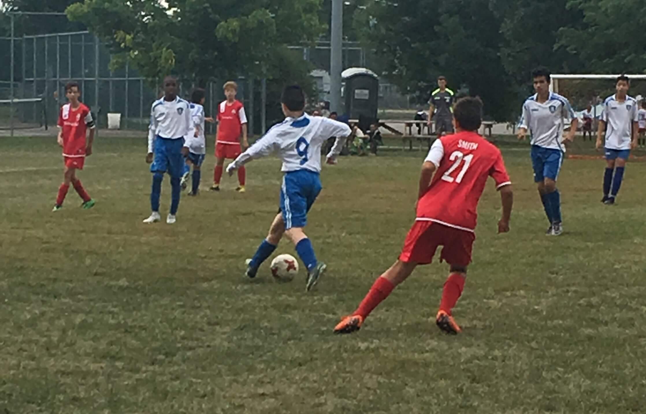national de soccer L'Assomption