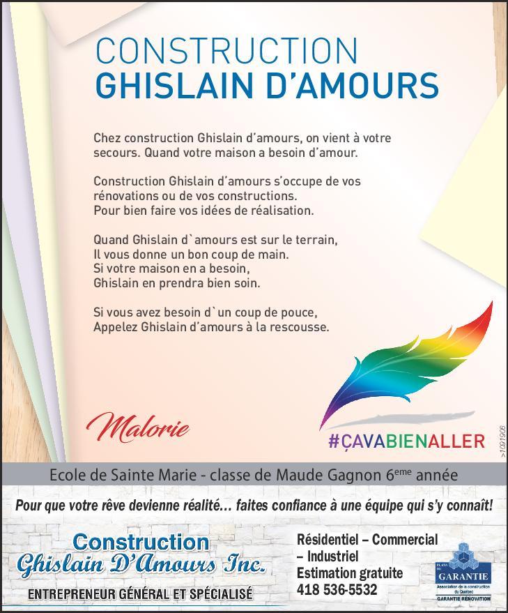 Ghislain D'Amours