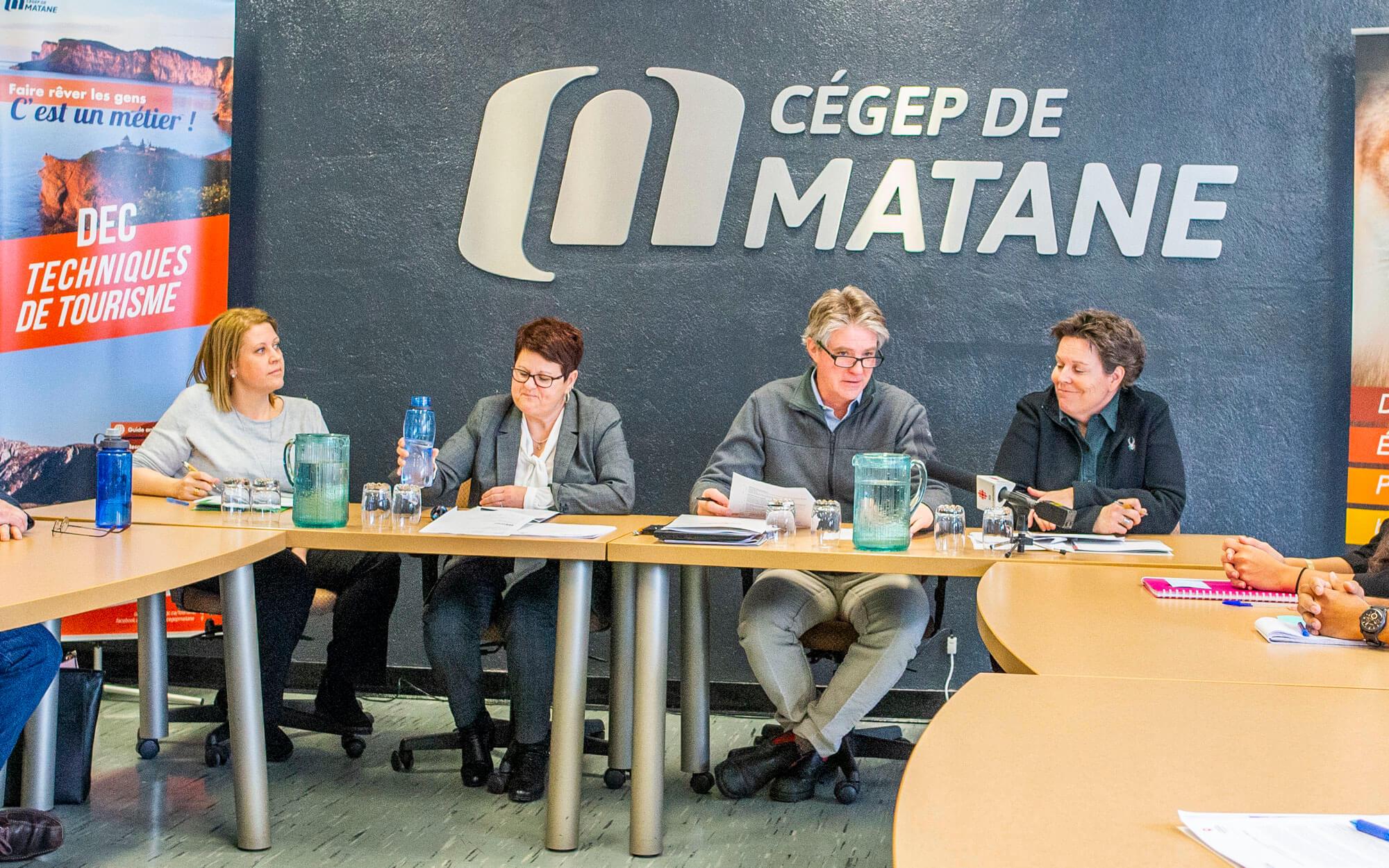 Cégep de Matane entente Attractions Incontournables de la Gaspésie