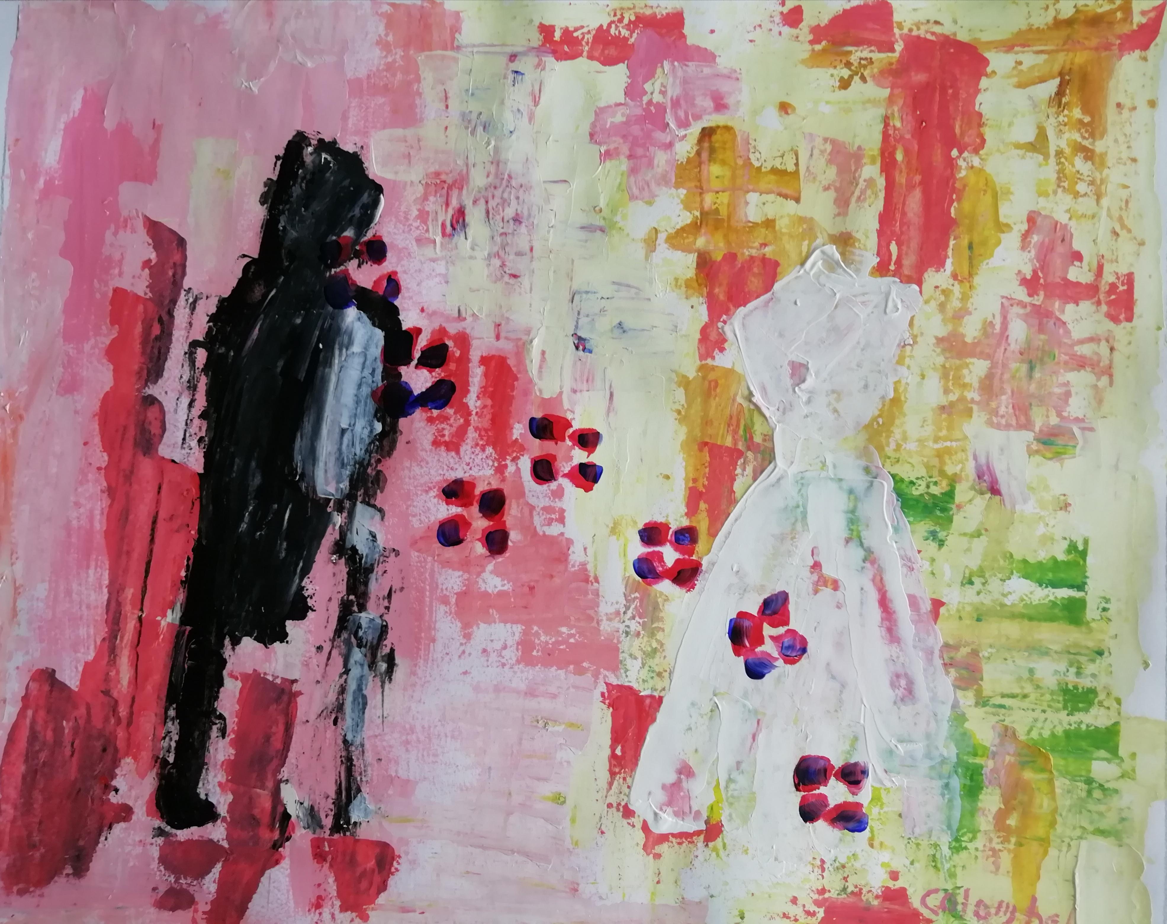 Bernadette Colombel présente l'exposition « Tenter de peindre l'indicible »