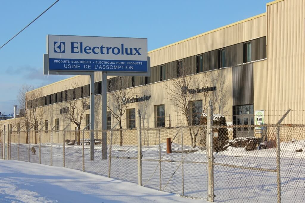 usine Electrolux