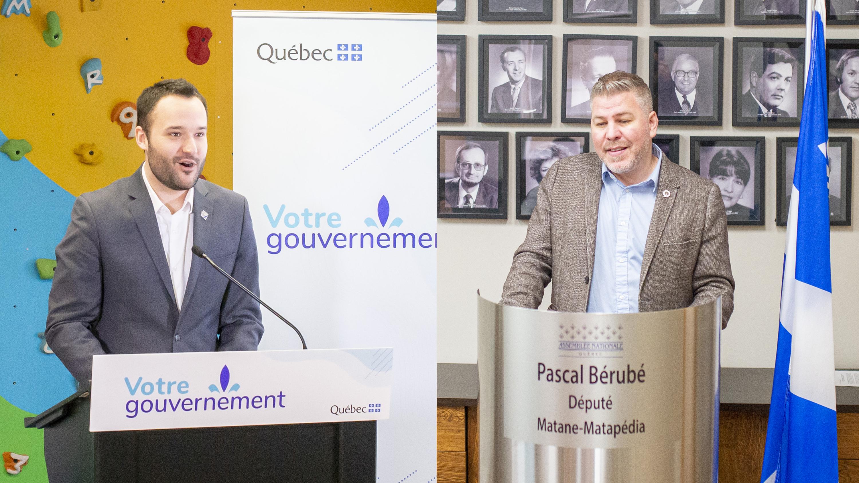 Mathieu Lacombe Pascal Bérubé