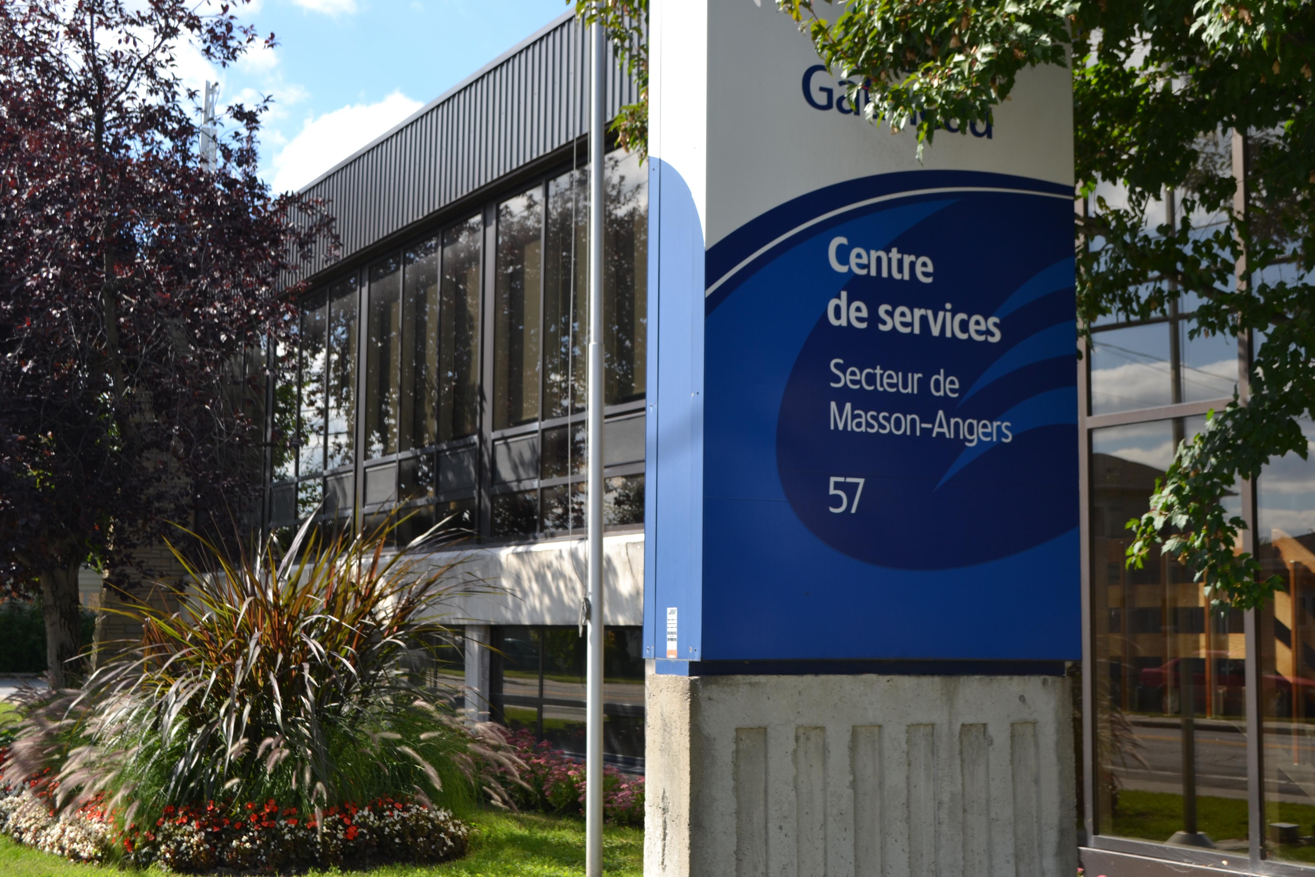 Centre de service Masson-Angers