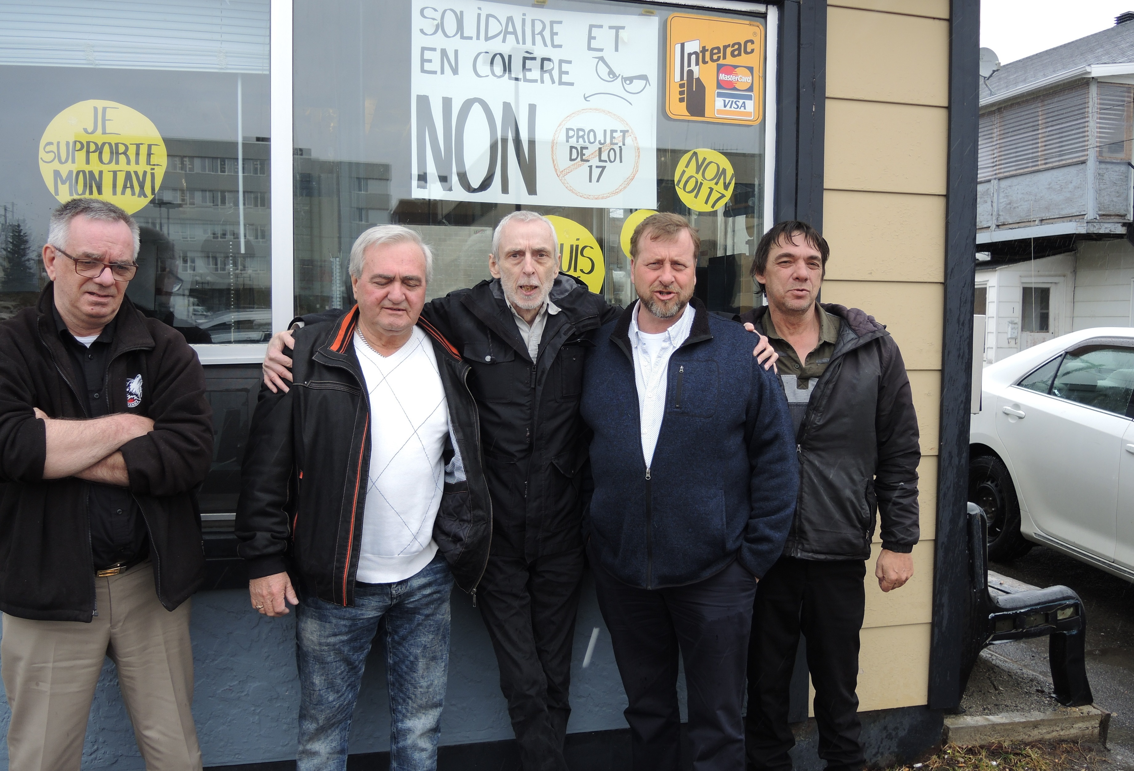 Taxi Rouyn-Noranda crise
