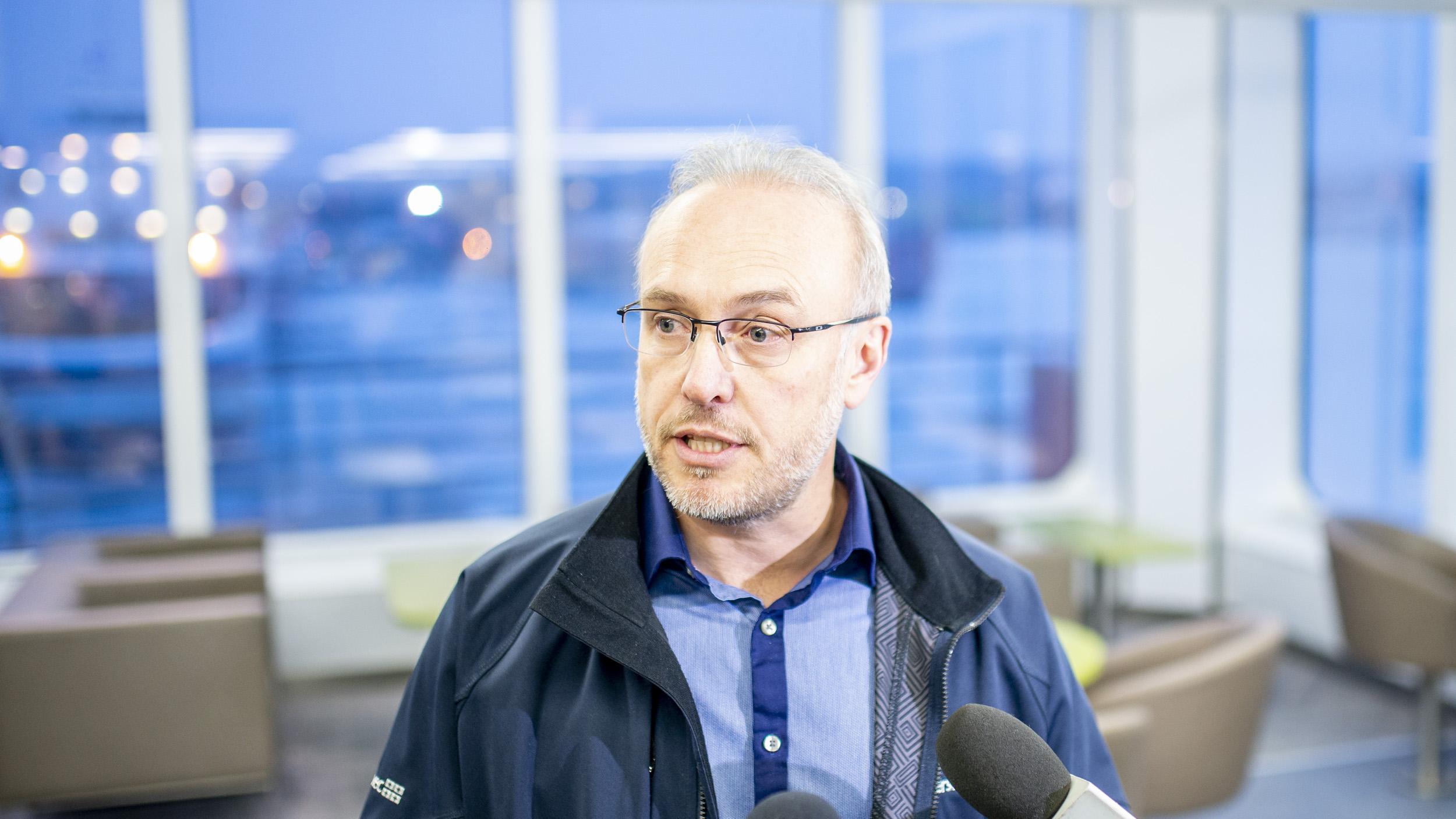 Stéphane Lafaut PDG de la STQ