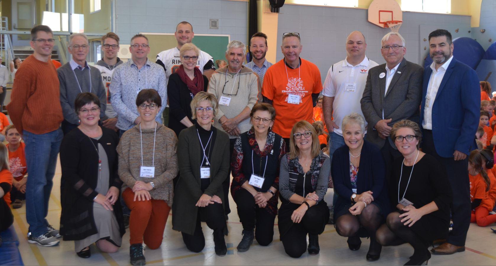Lancement de la Campagne des agrumes à l'école Élisabeth-Turgeon à Rimouski.