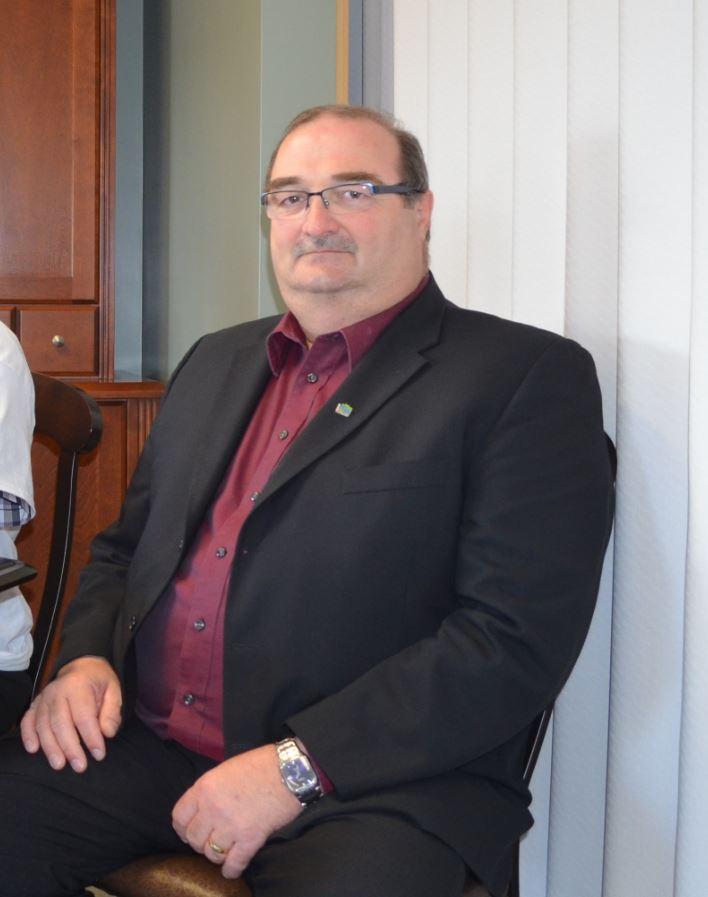 Francis St-Pierre, préfet de la MRC Rimouski-Neigette.