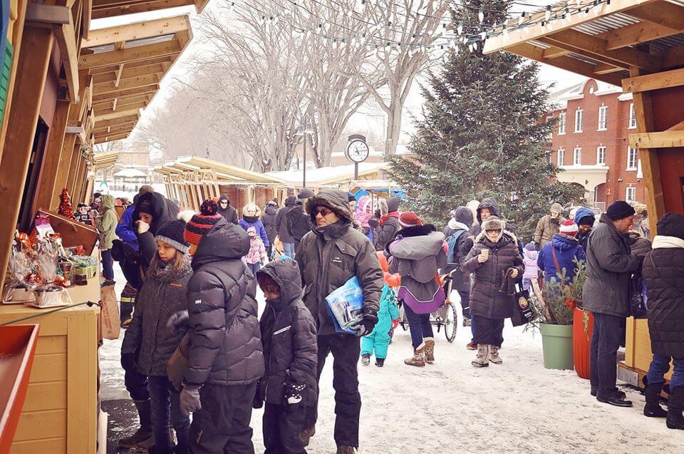 Marché public de Noël
