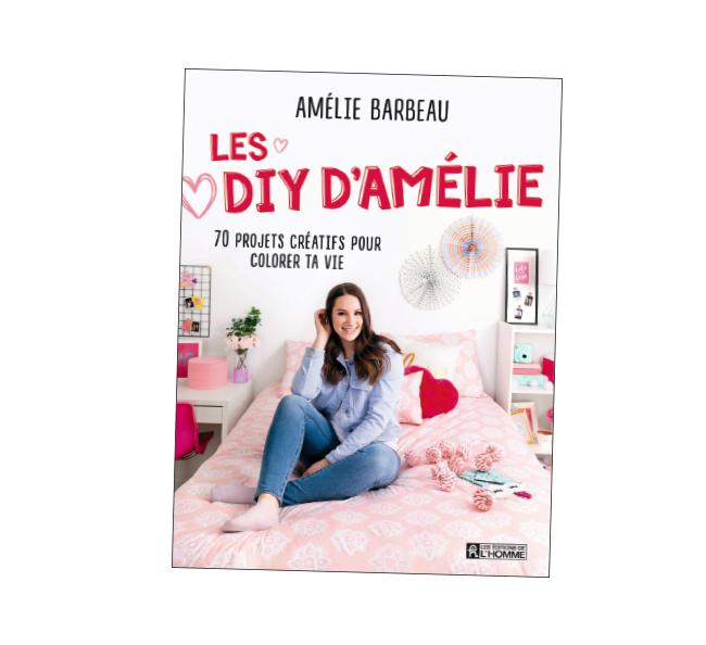 Livre les diy d'Amélie