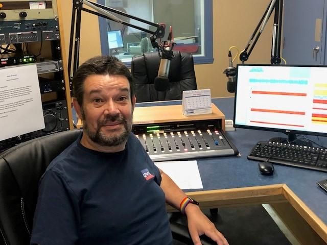 Dany Proulx, directeur général de CKMN-FM.