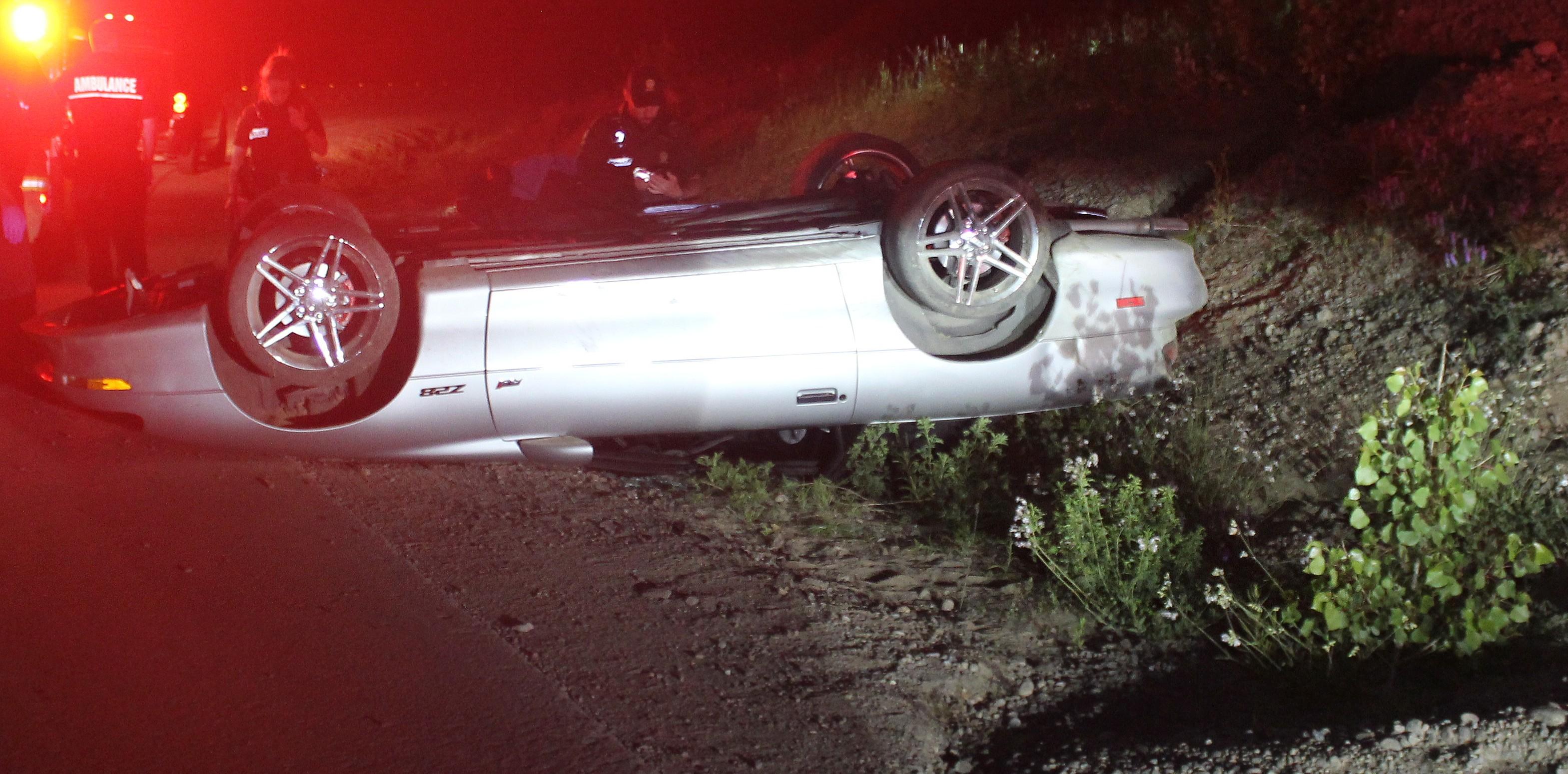 Accident Sainte-Mélanie
