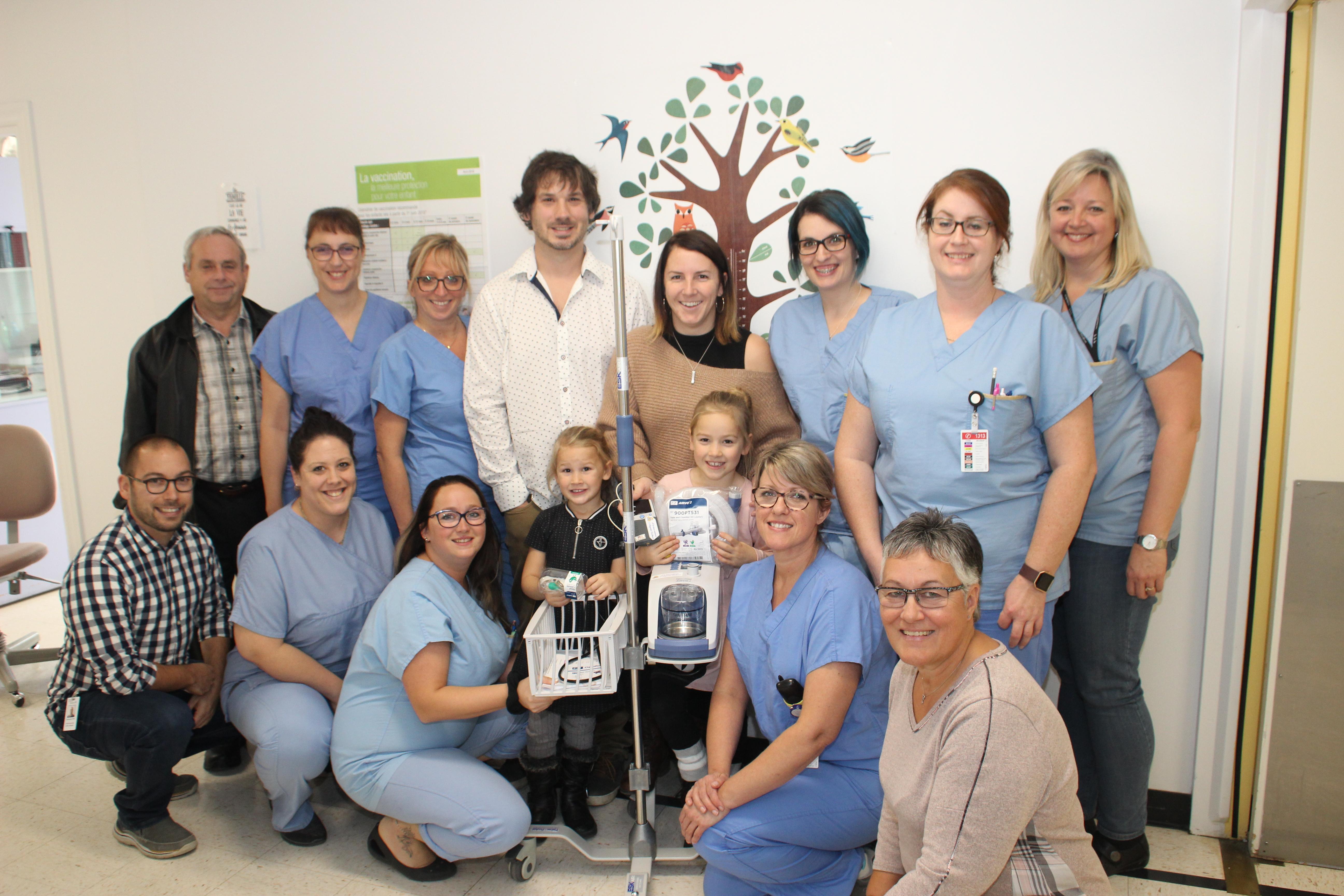 Famille Carignan Lachance Pediatrie