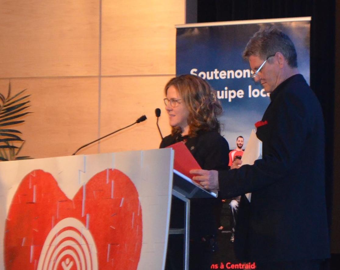 Eve Lavoie et Sylvain Roy - Centraide BSL