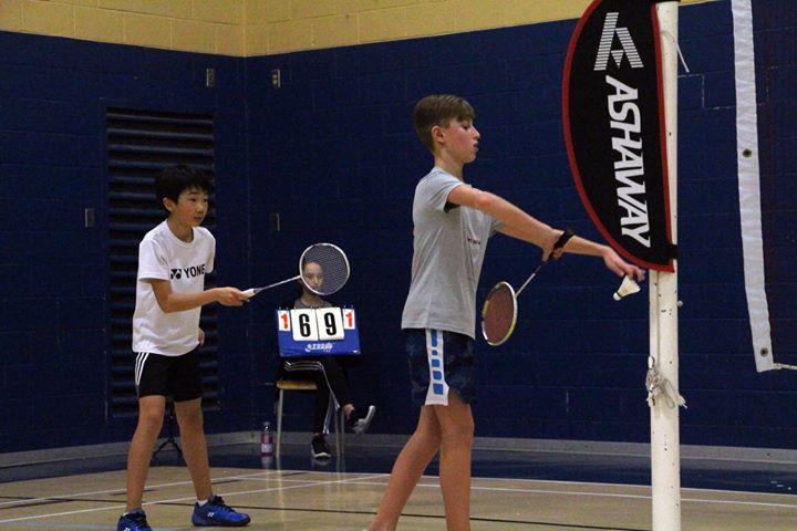Philippe Gaubert Badminton Noranda