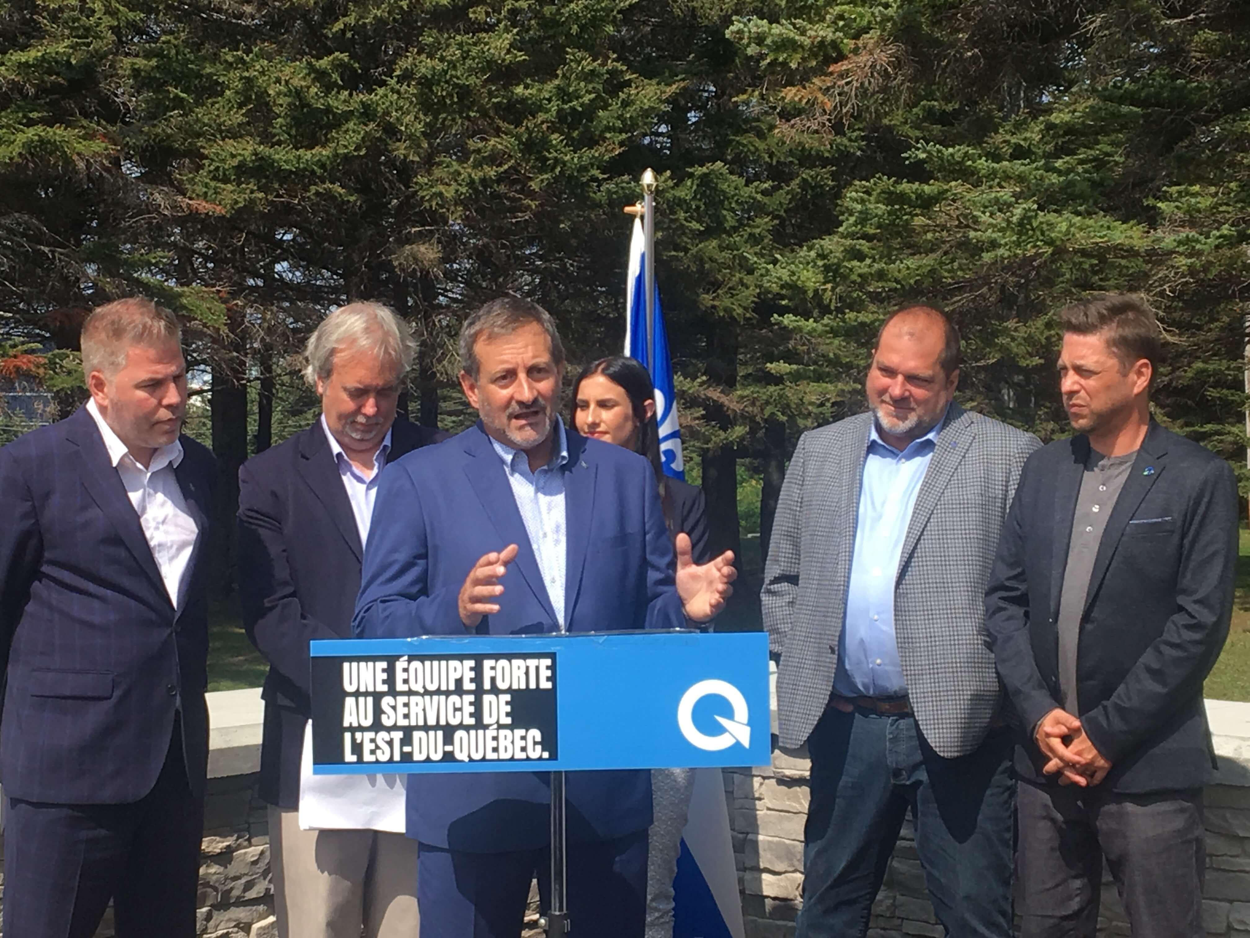 Lancement campagne électorale provinciale PQ