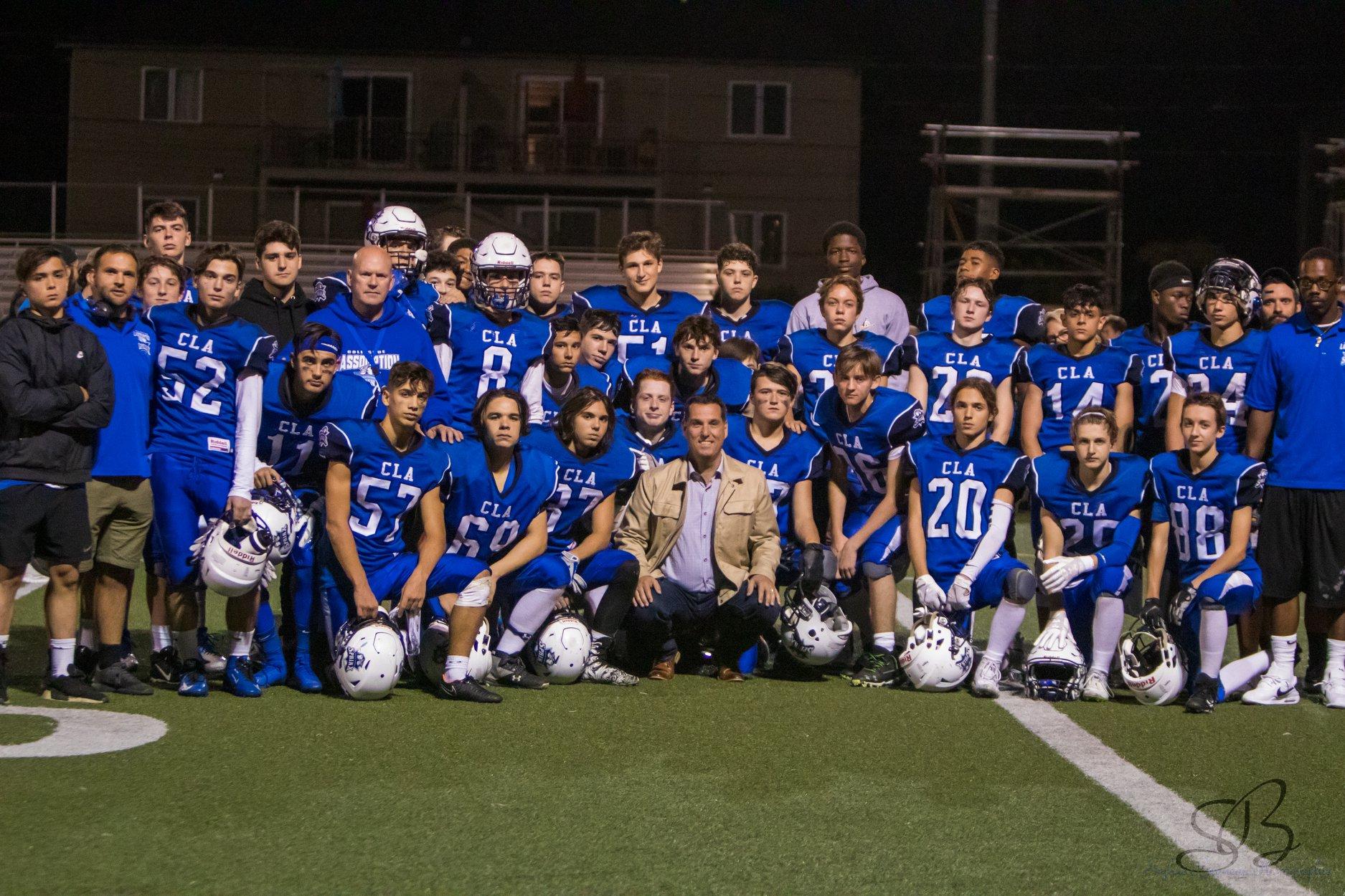 CLA football