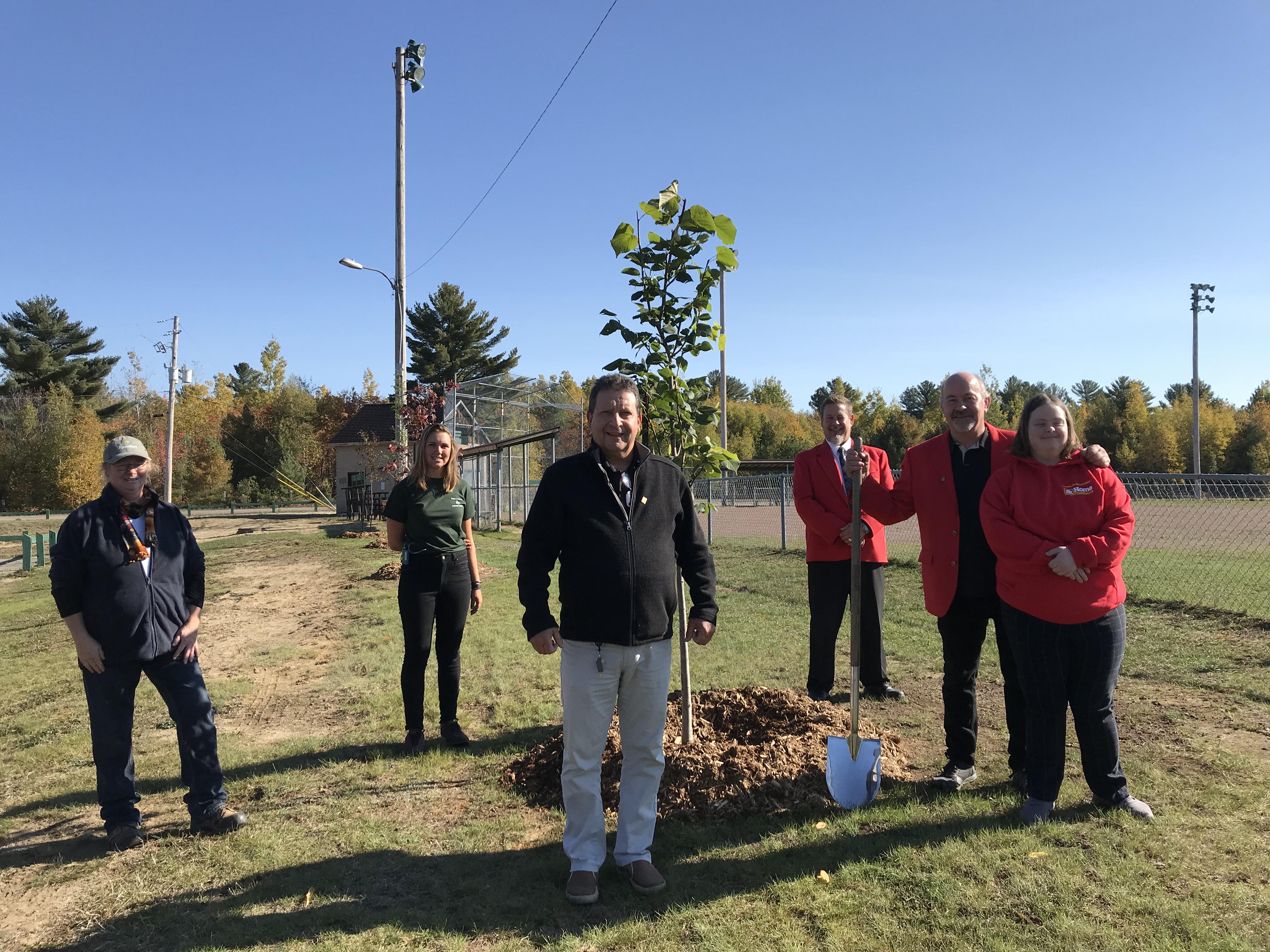 More than 25 new trees planted in Donald-Stewart Park