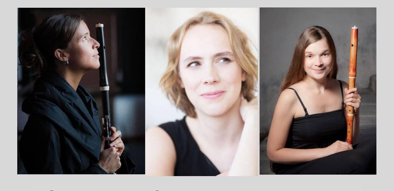 Annie Laflamme, Mylène Bélanger et Annie Thivierge.