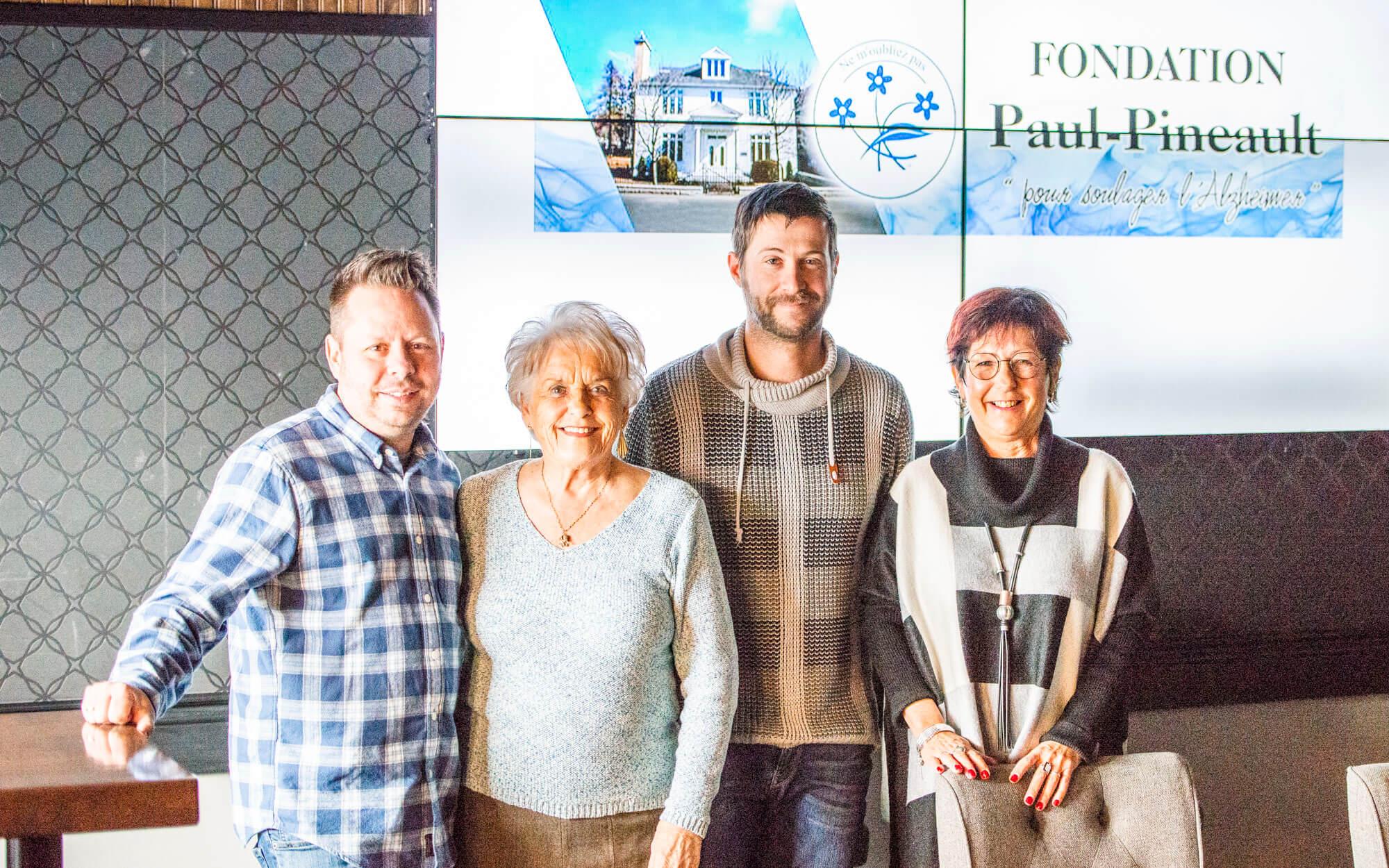 Fondation Paul-Pineault pour soulager l'Alzheimer Matane