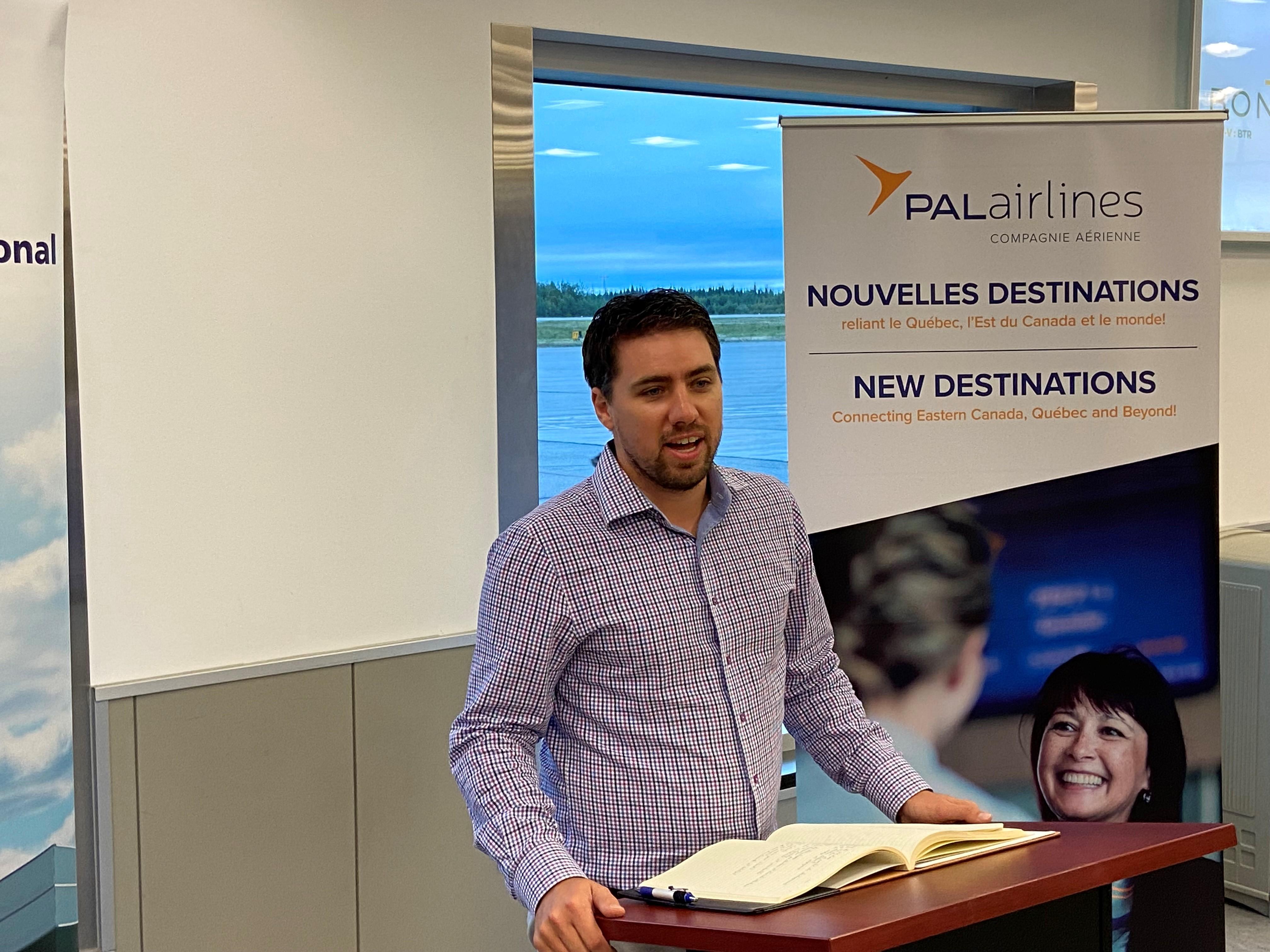 Tommy Desfossés - PAL Airlines