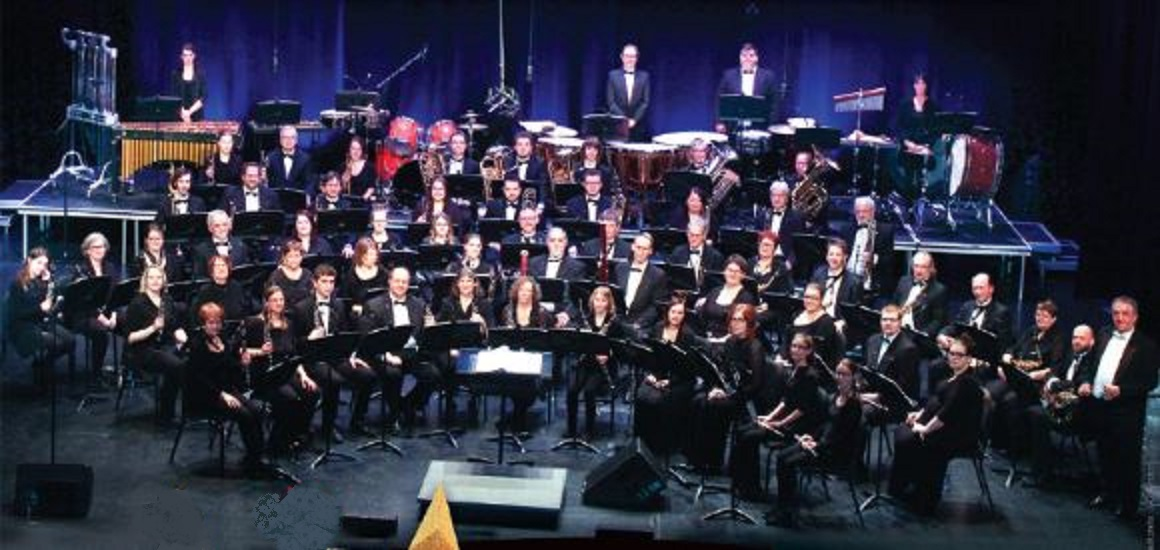 L'orchestre d'harmonie Antoine-Perreault.