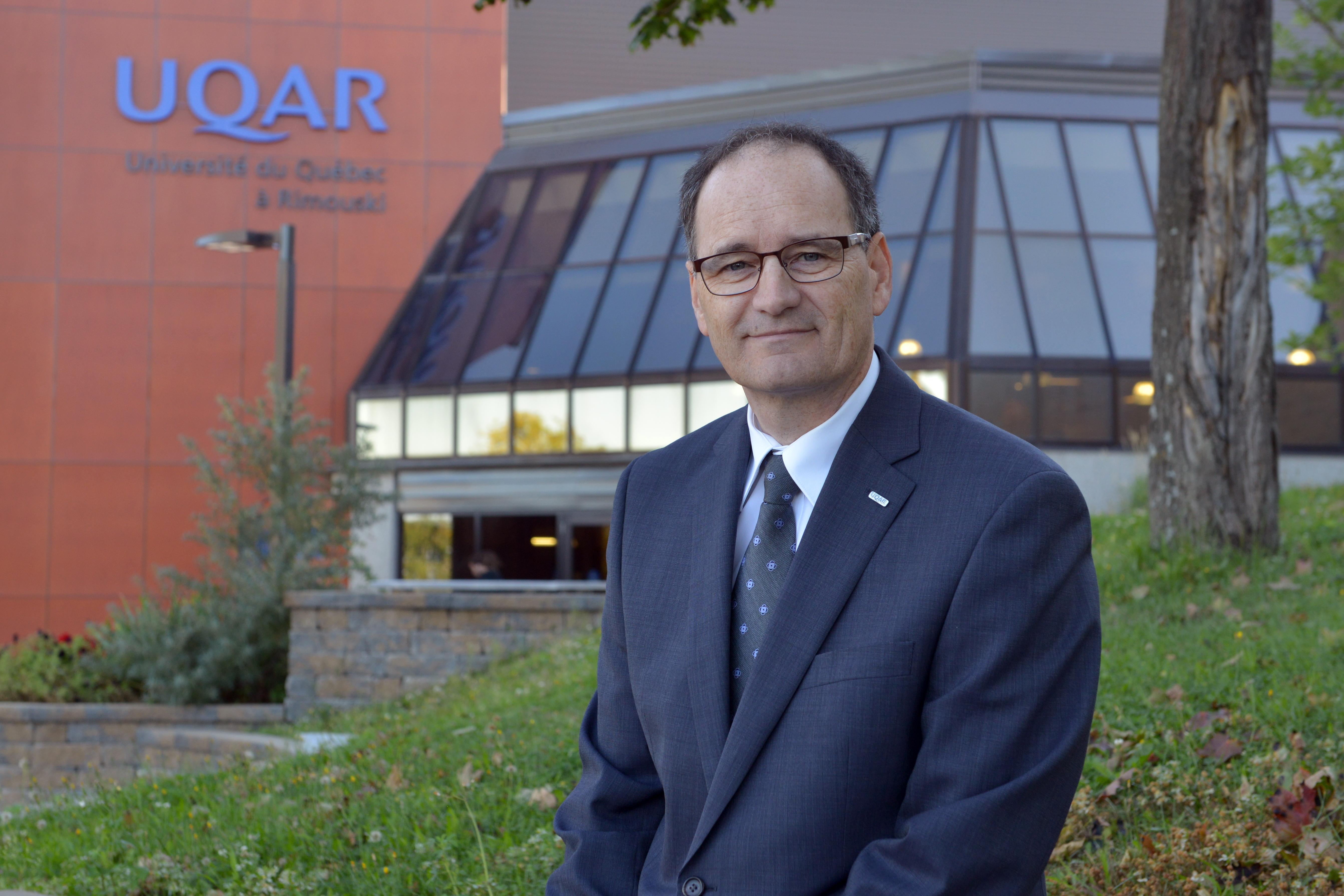 Jean-Pierre Ouellet, recteur, UQAR