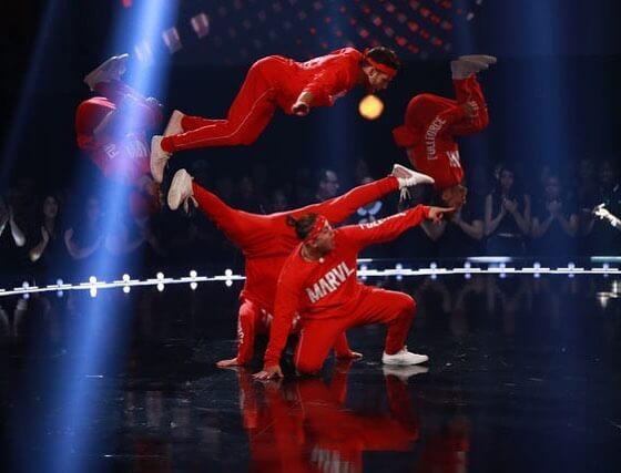 Spectacle troupe MARVL