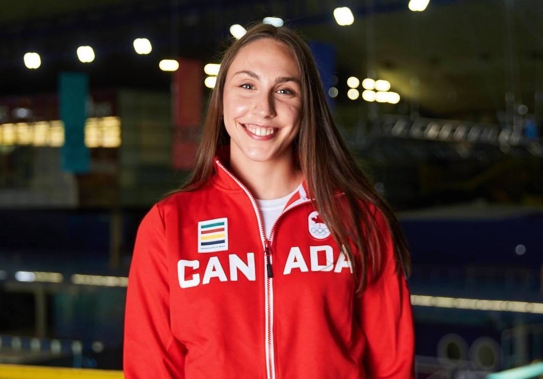 Camille Fiola-Dion a été sélectionnée pour faire partie de l'équipe nationale de natation artistique qui participera aux JO de Tokyo.
