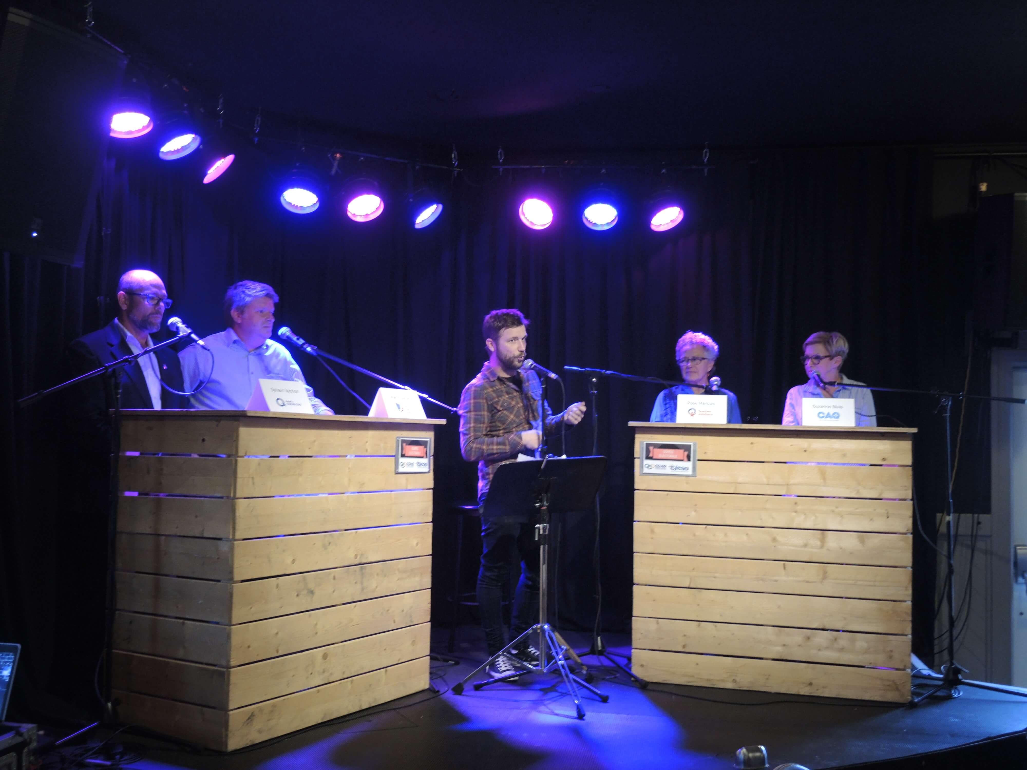 Salle comble pour le débat électoral de La Sarre