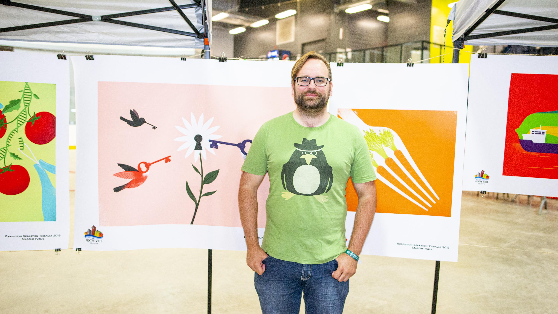 Mathieu Trépanier comité centre-ville de Matane encan virtuel Sébastien Thibault