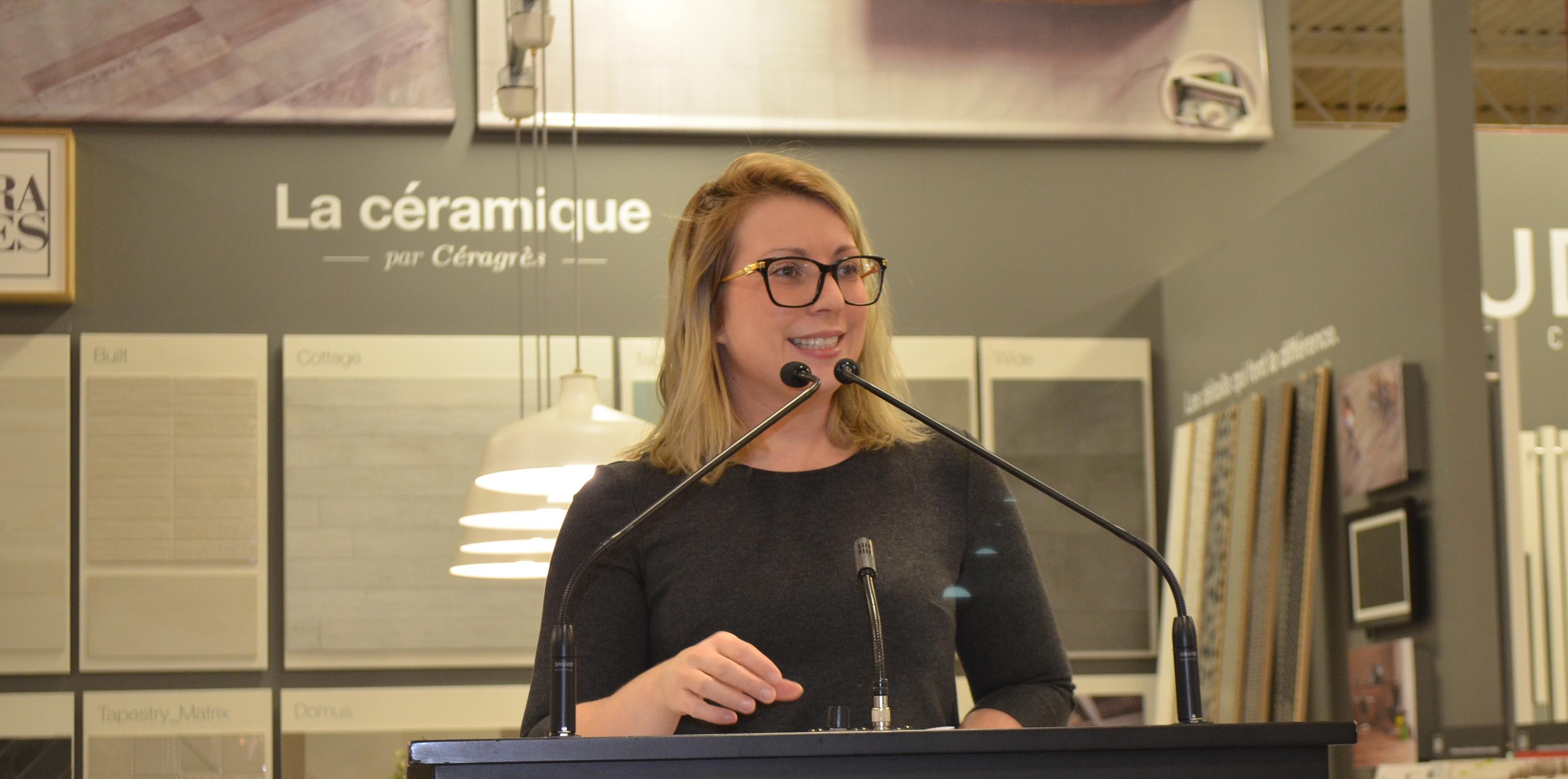 Stéphanie Boulianne, directrice de la Fondation du CHRR.