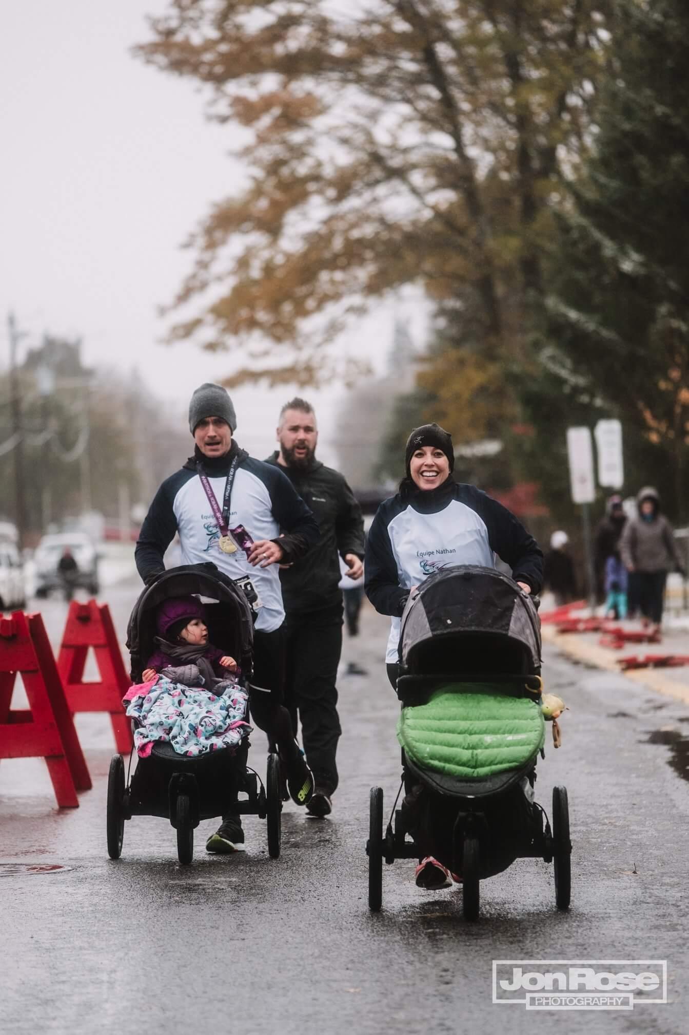 Marathon de Norah et Nathan