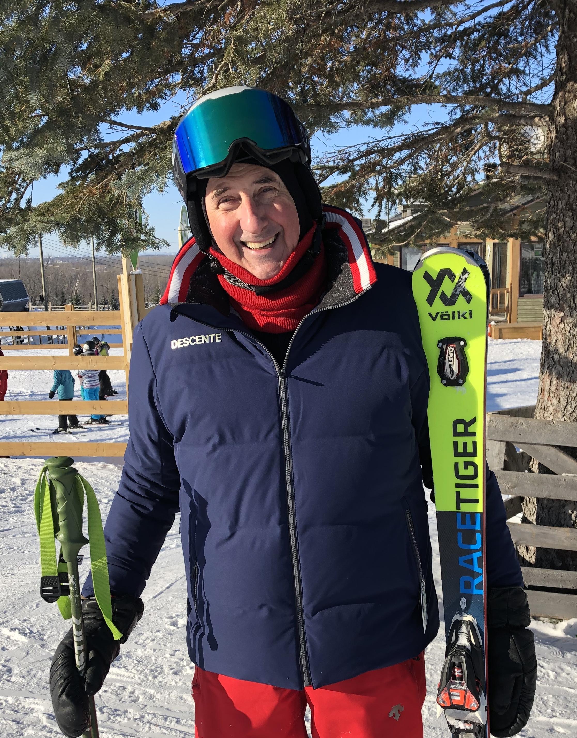 Major Jean-Guy Plante ski alpin