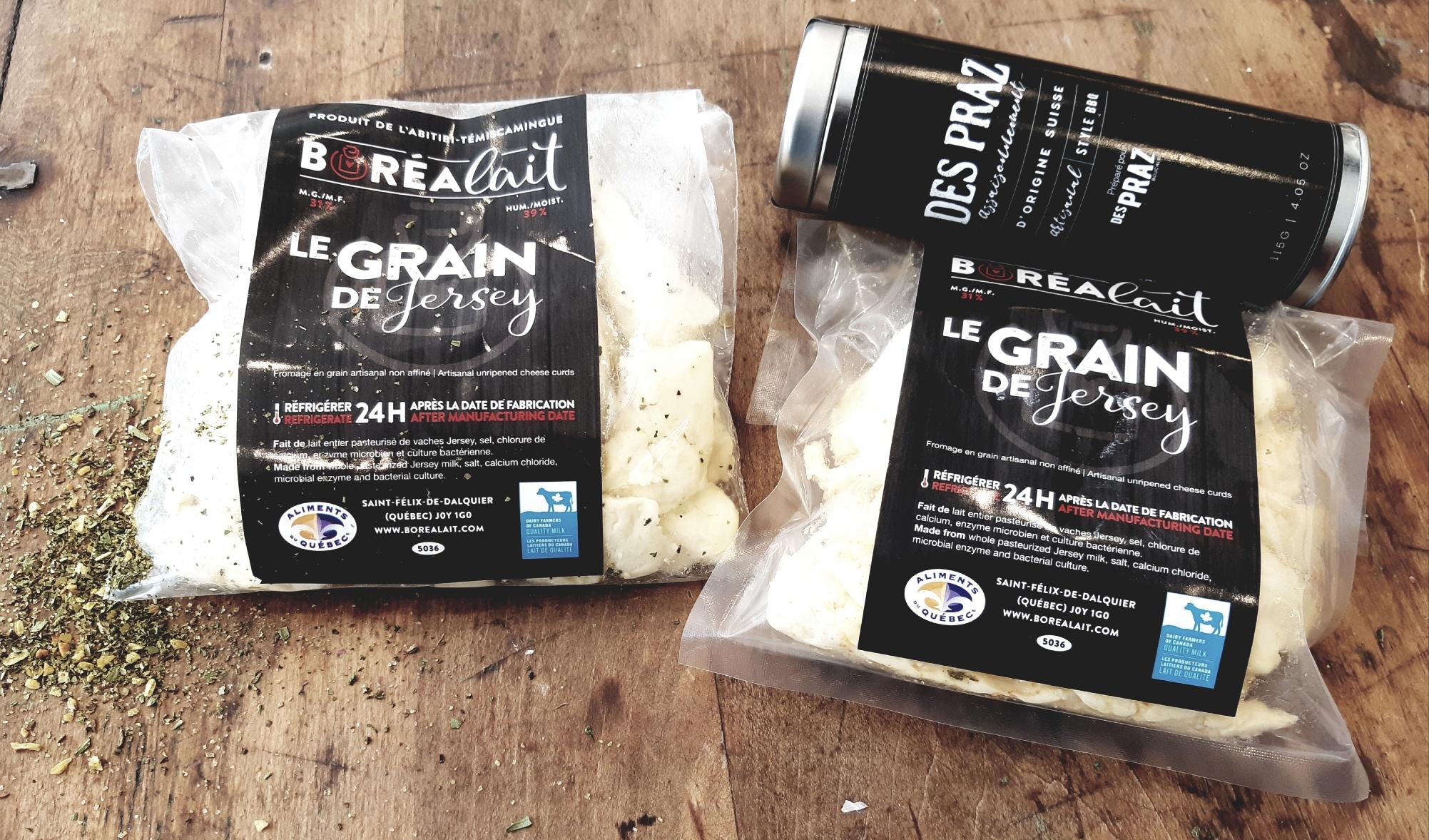 Boréalait fromage grains
