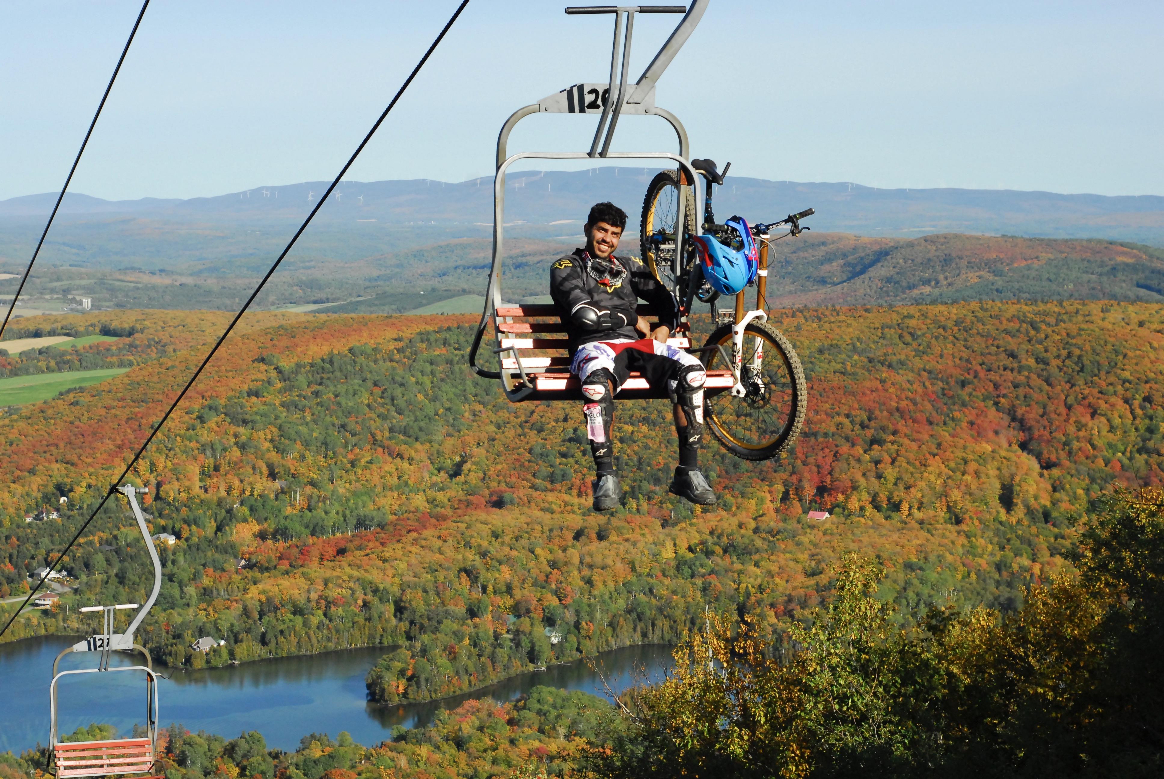 Vélo de montagne Mont-Comi