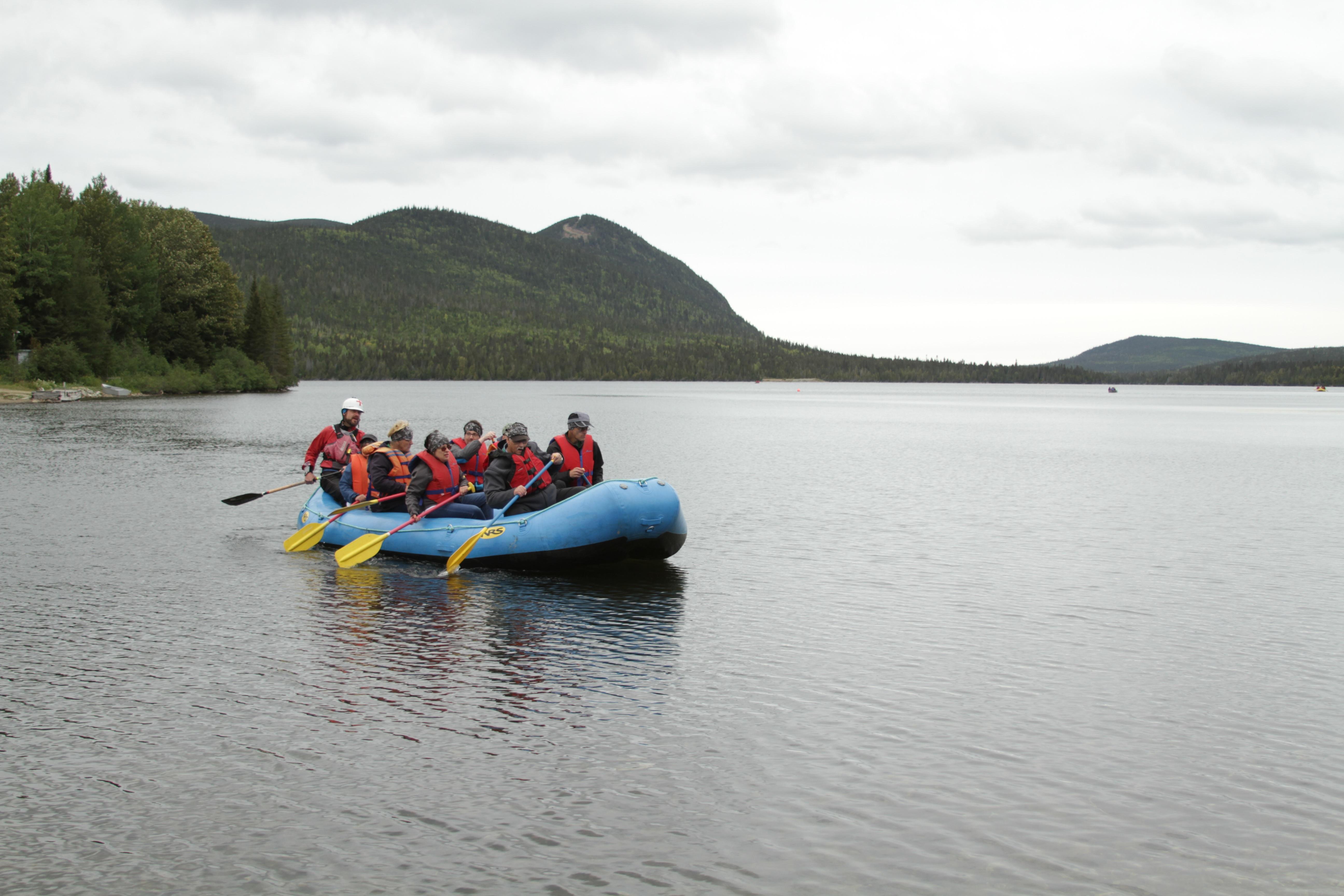 Rafting Lac