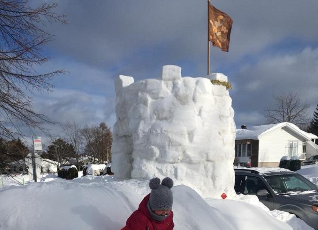 Château de neige