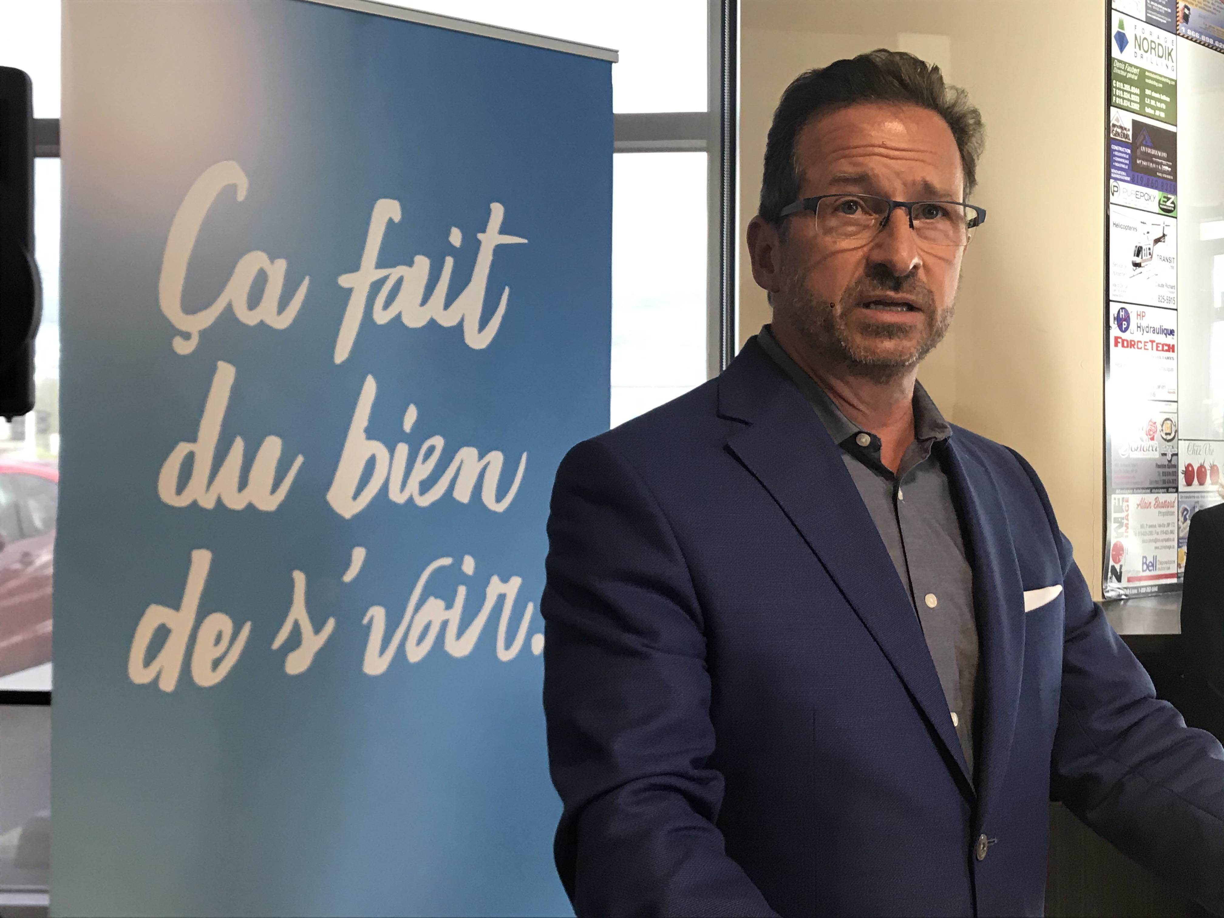 Yves-François Blanchet, politique, Bloc Québécois