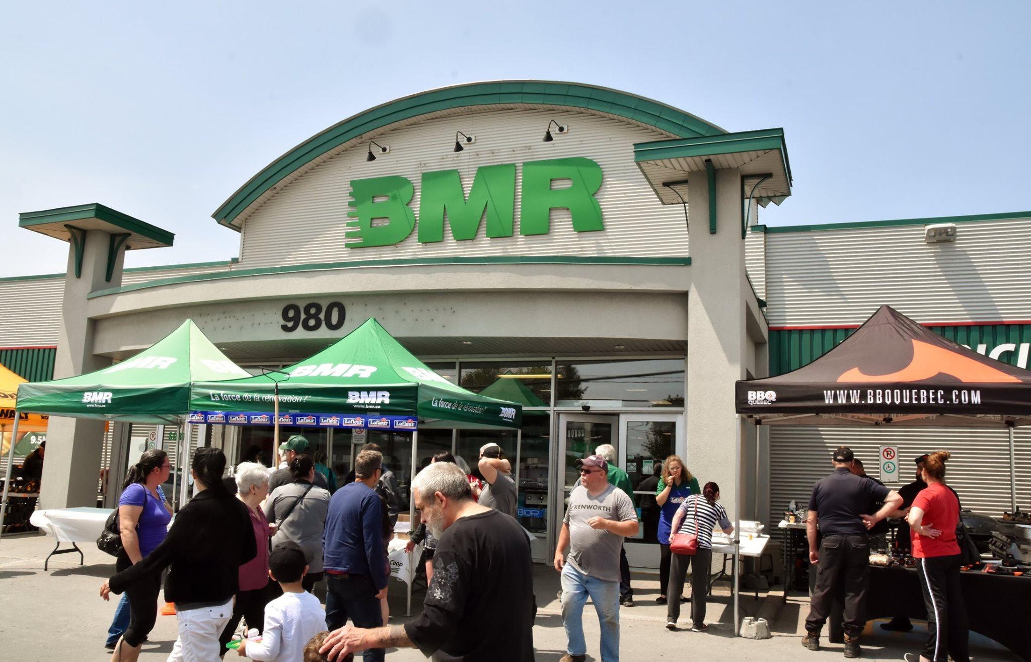 Réouverture BMR Saint-Lin
