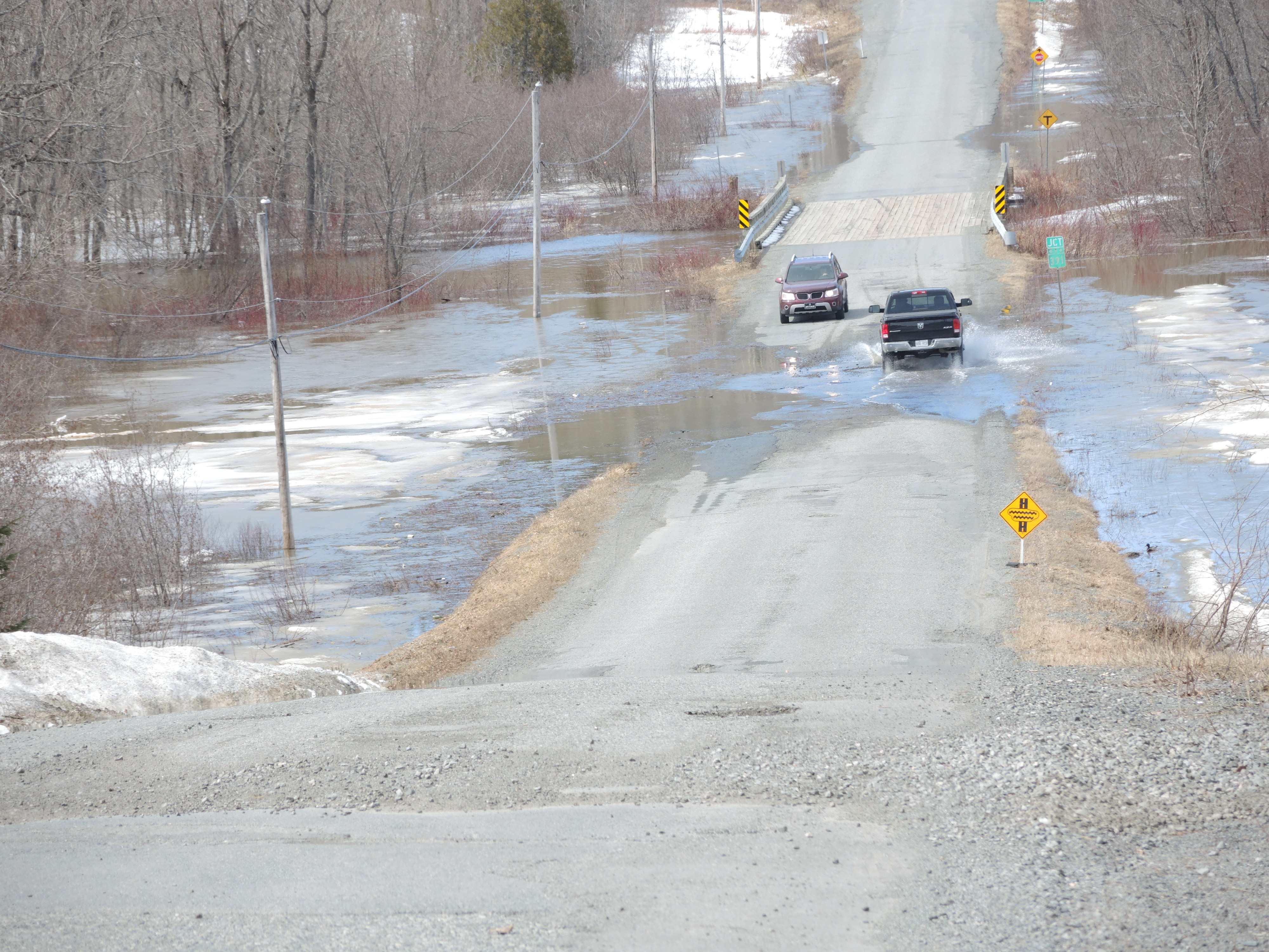 Chemin lavigne Rouyn-Noranda inondations