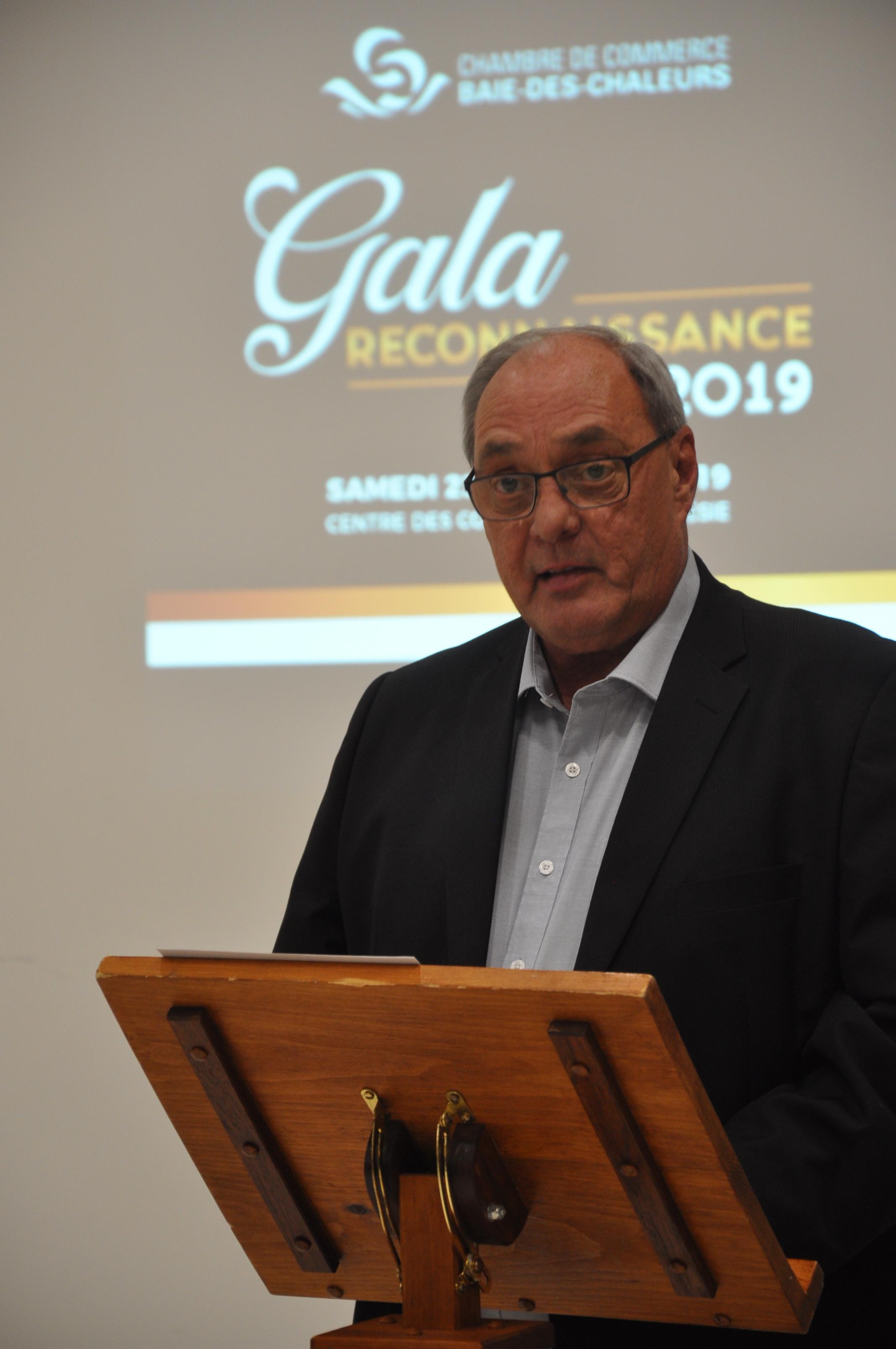 Maurice Quesnel Chambre de commerce Baie-des-Chaleurs