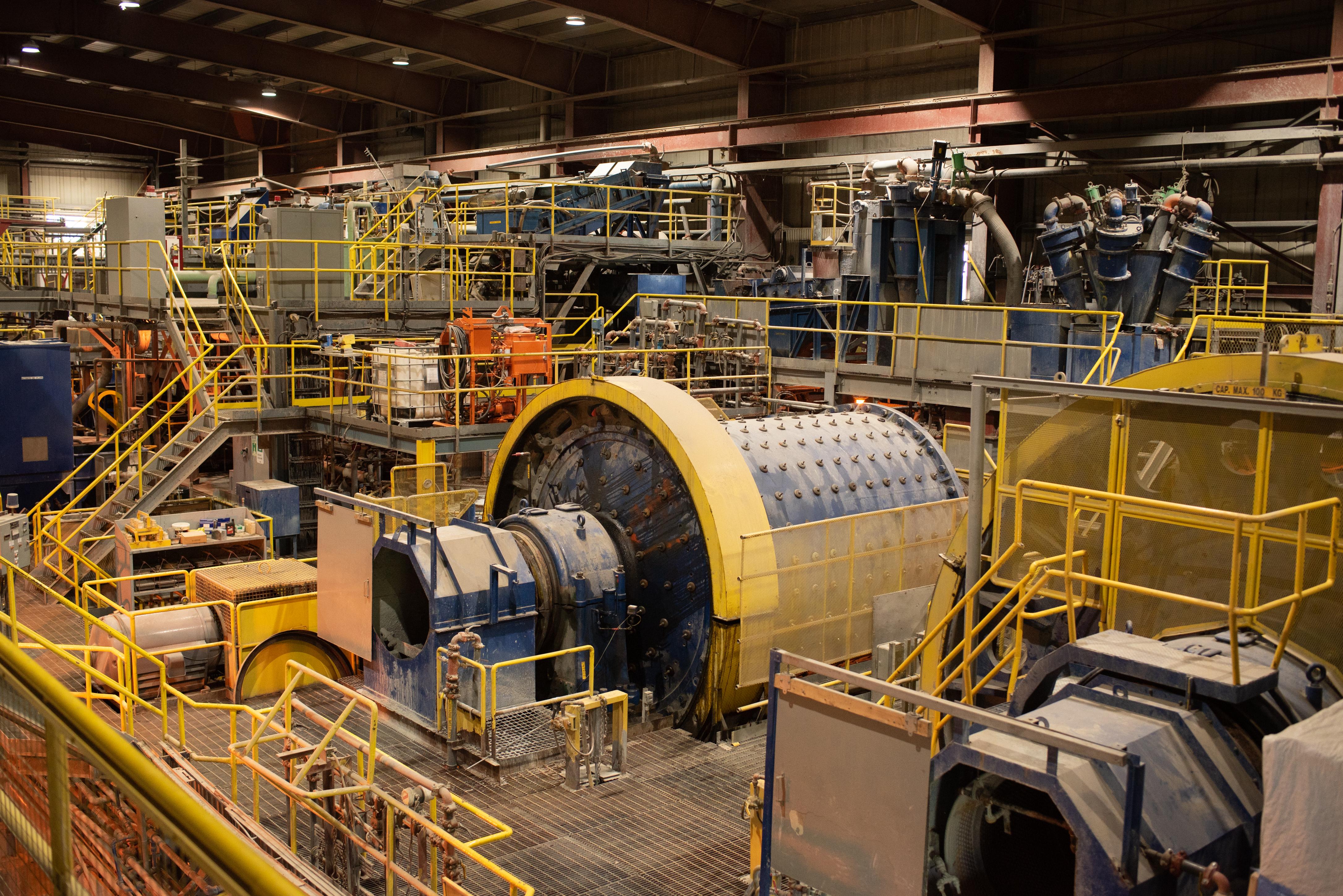 usine de la mine kiena