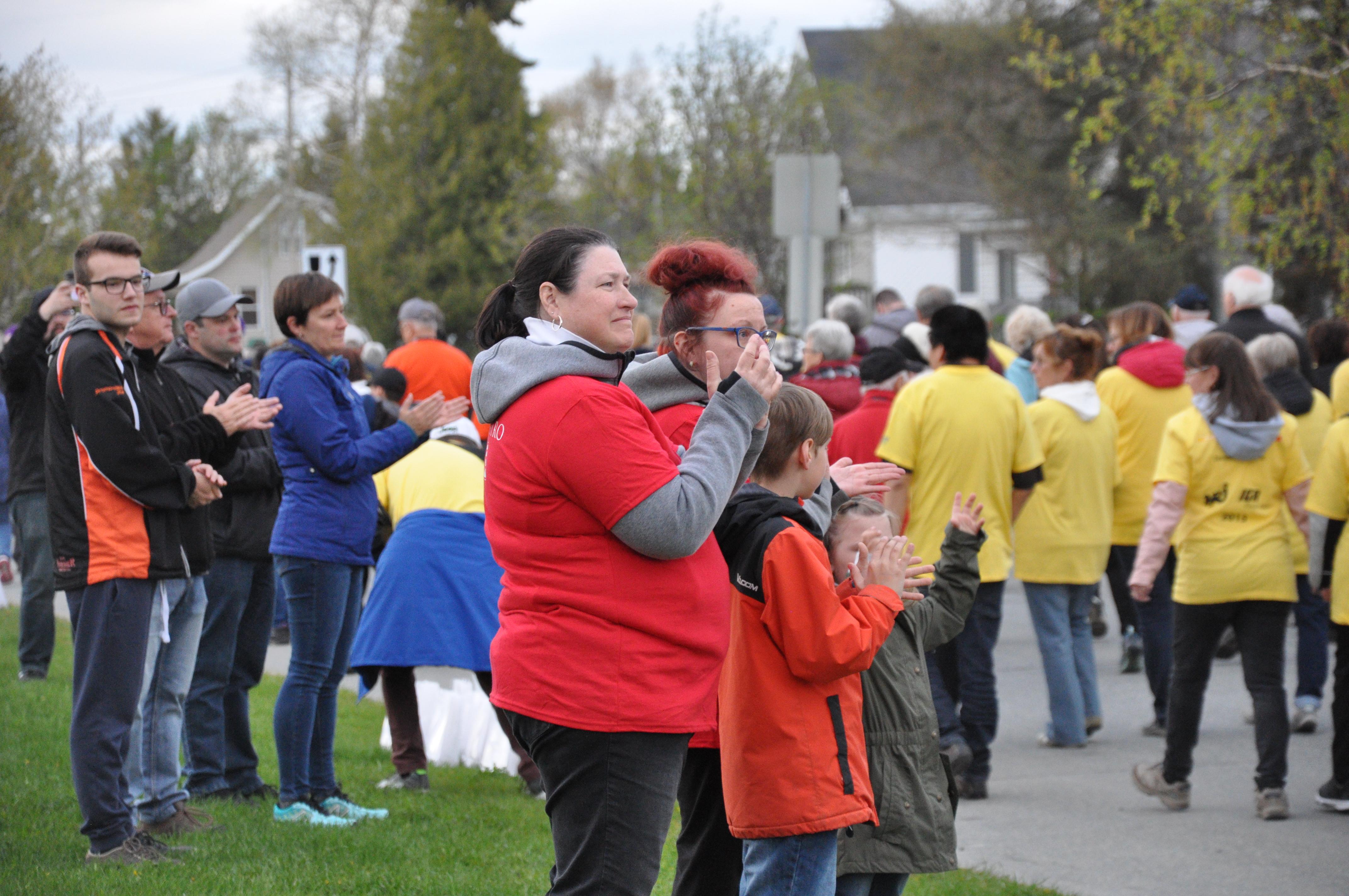 Relais pour la vie 2019 cancer survivant marche val-d'or communauté soutient