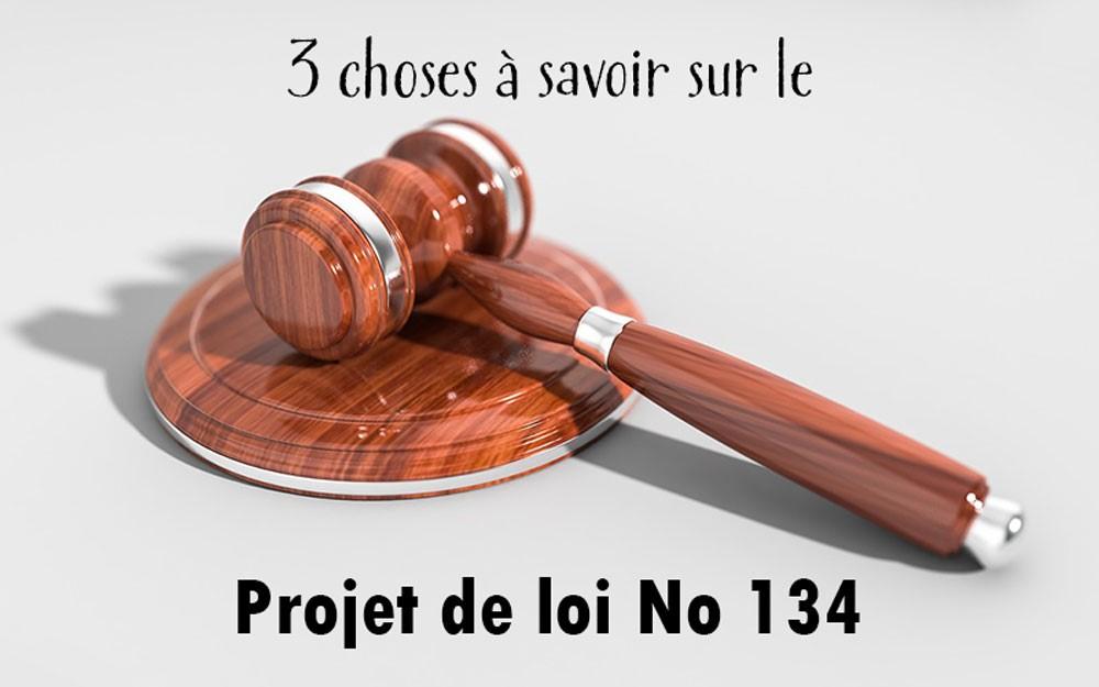 Projet loi 134 Créditmatik