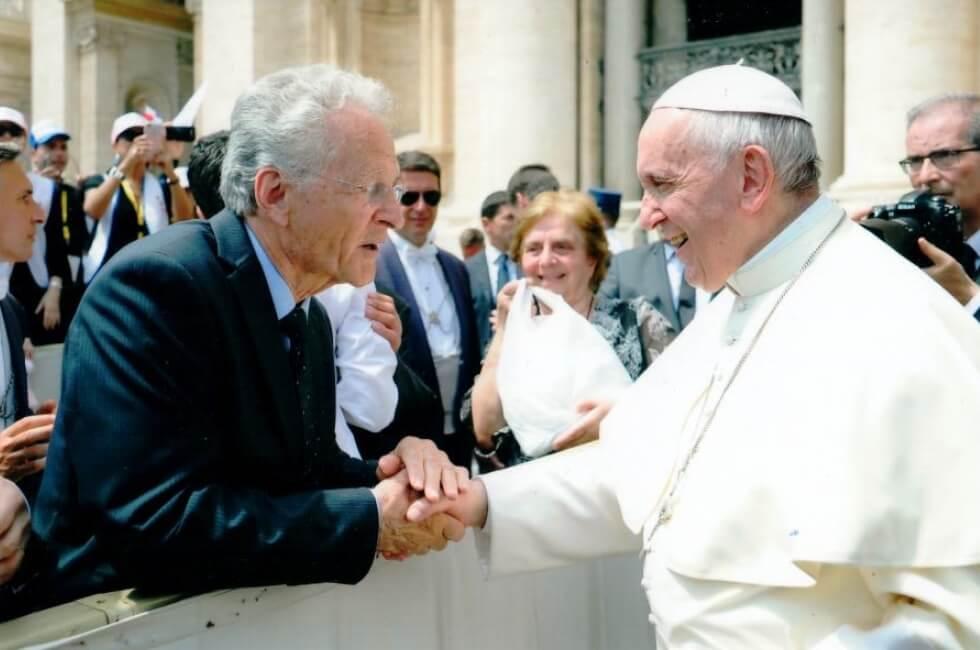 Louis Ouellet pape François