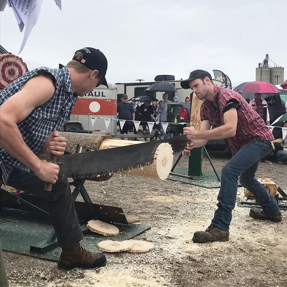 Great Canadian Lumberjack Show sera aux festivités du 100e de Témiscaming
