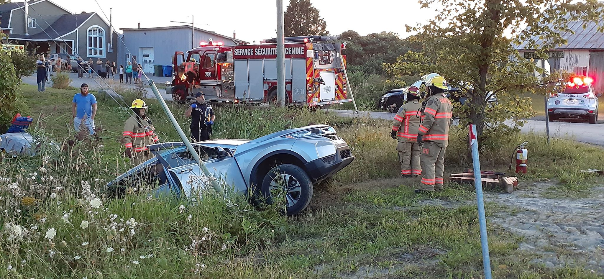 Accident SQ Saint-Lin