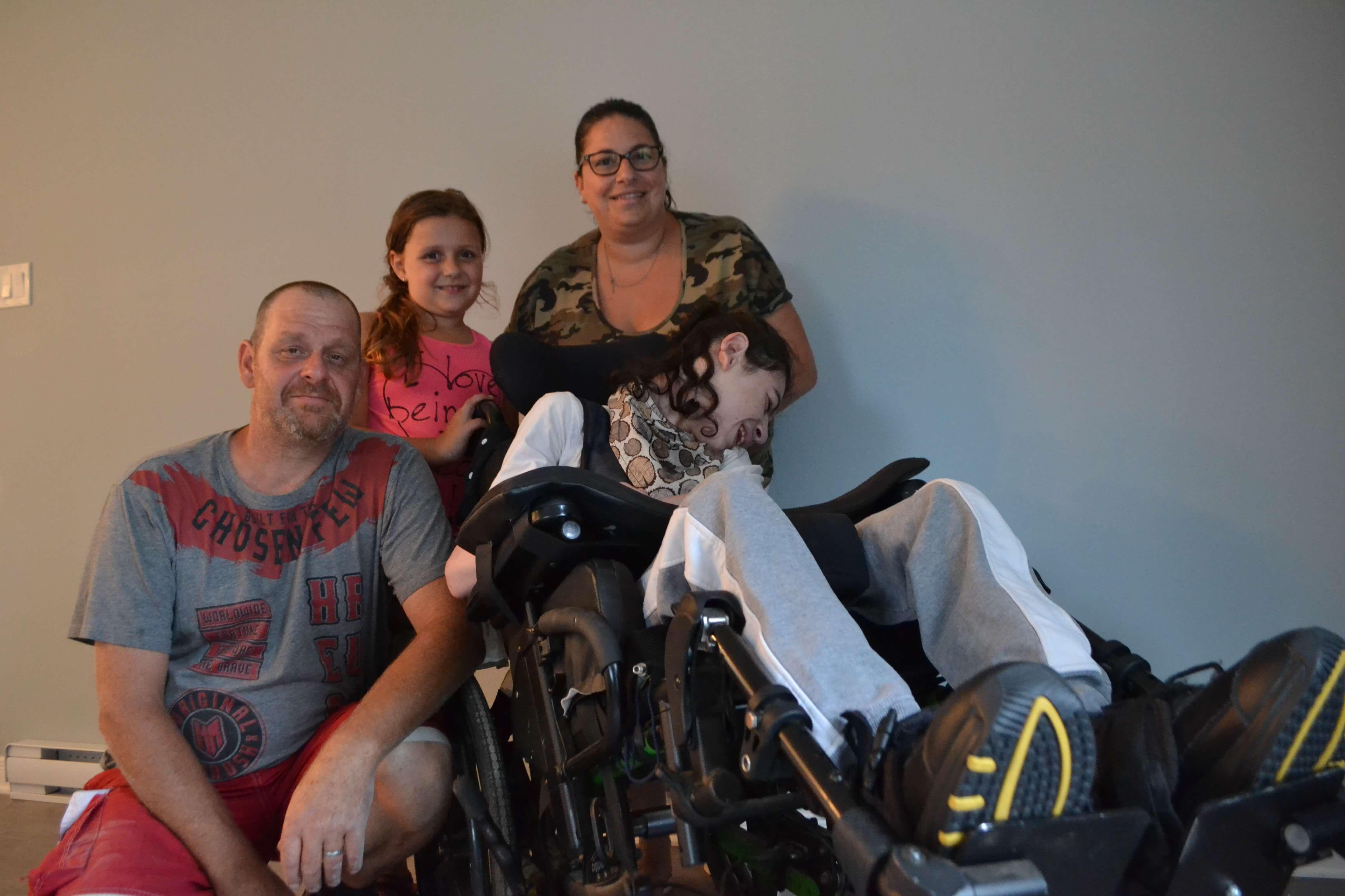 Justin Charron famille