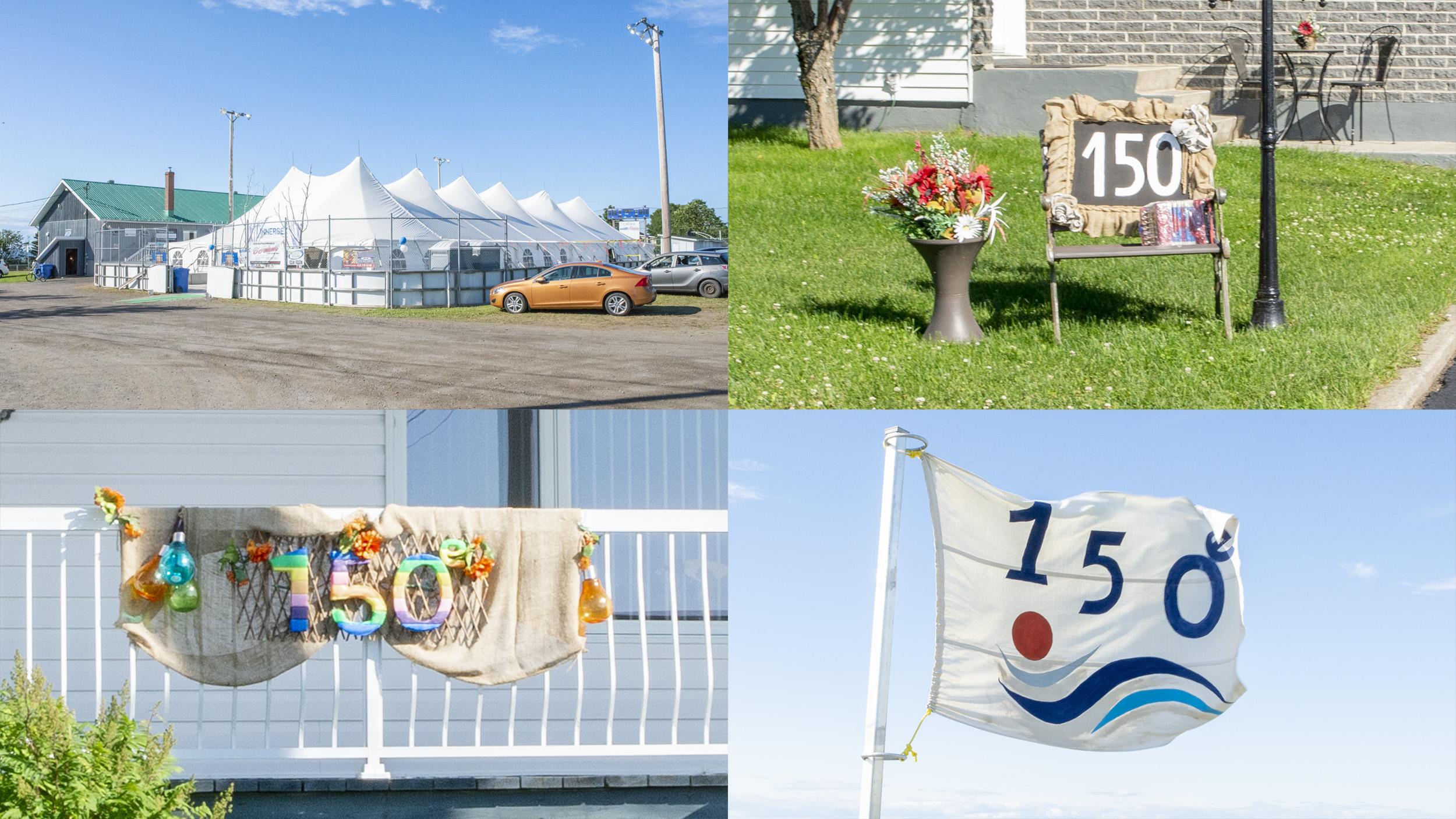 Baie-des-Sables 150e anniversaire